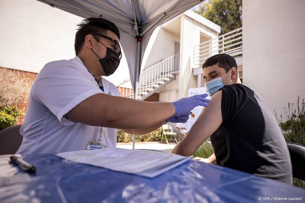 VS halen vaccinatiedoel Biden maand later dan gepland