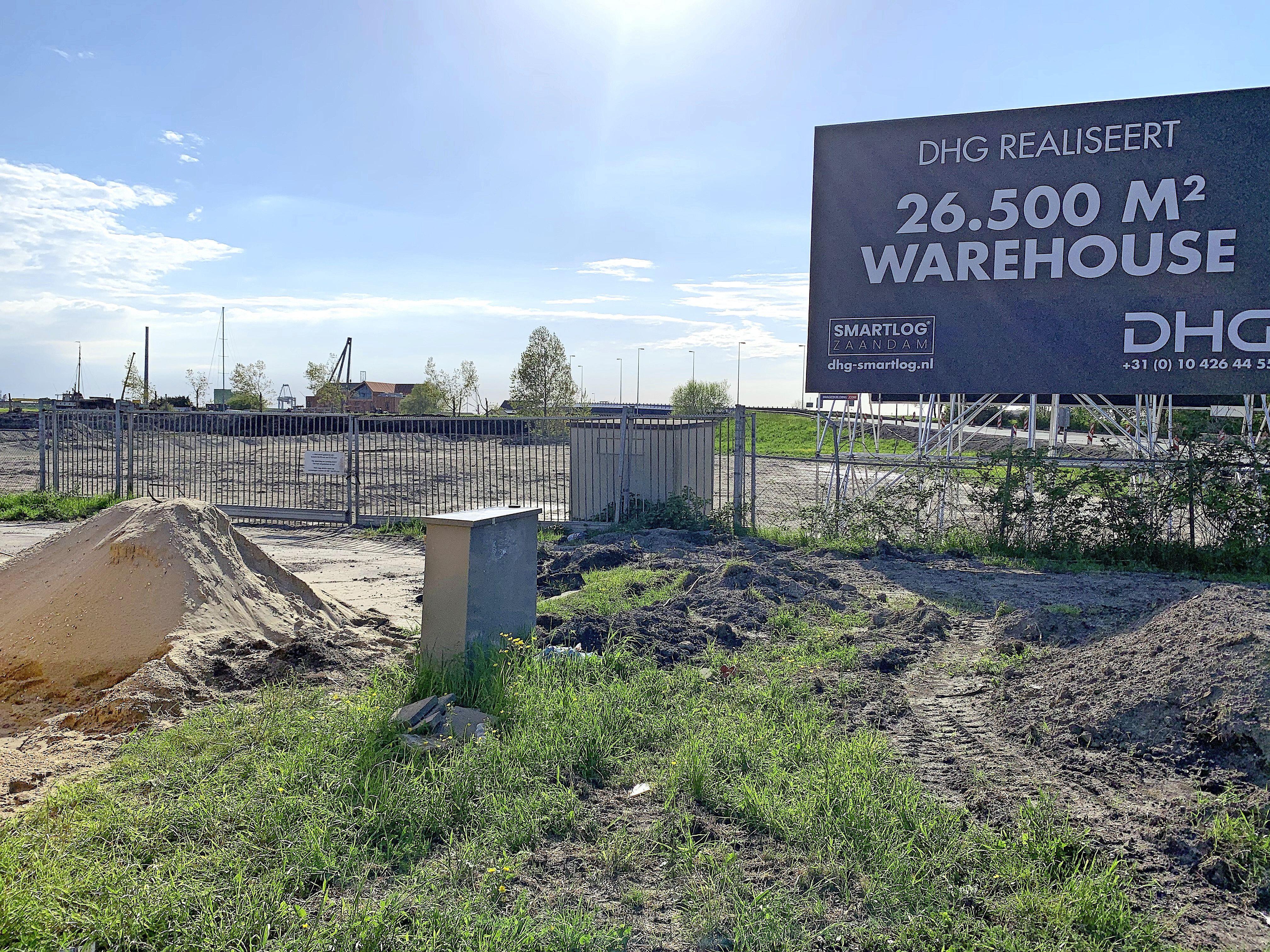 Spookgebouw oude vuilverbranding Zaandam met de grond gelijk, komt modern distributiecentrum voor terug