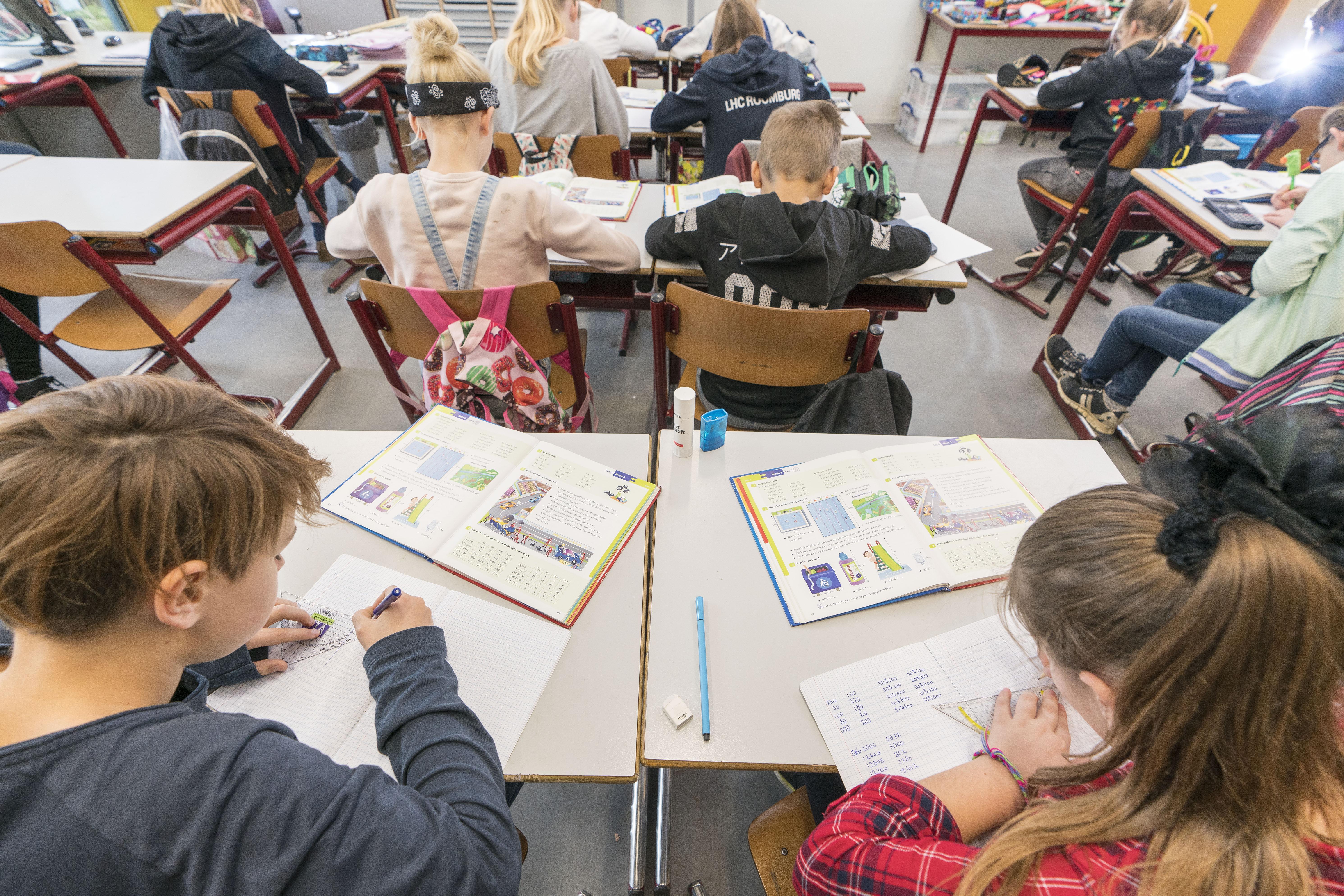 Leids onderwijs dicht de kloof tussen groep 8 en klas 1