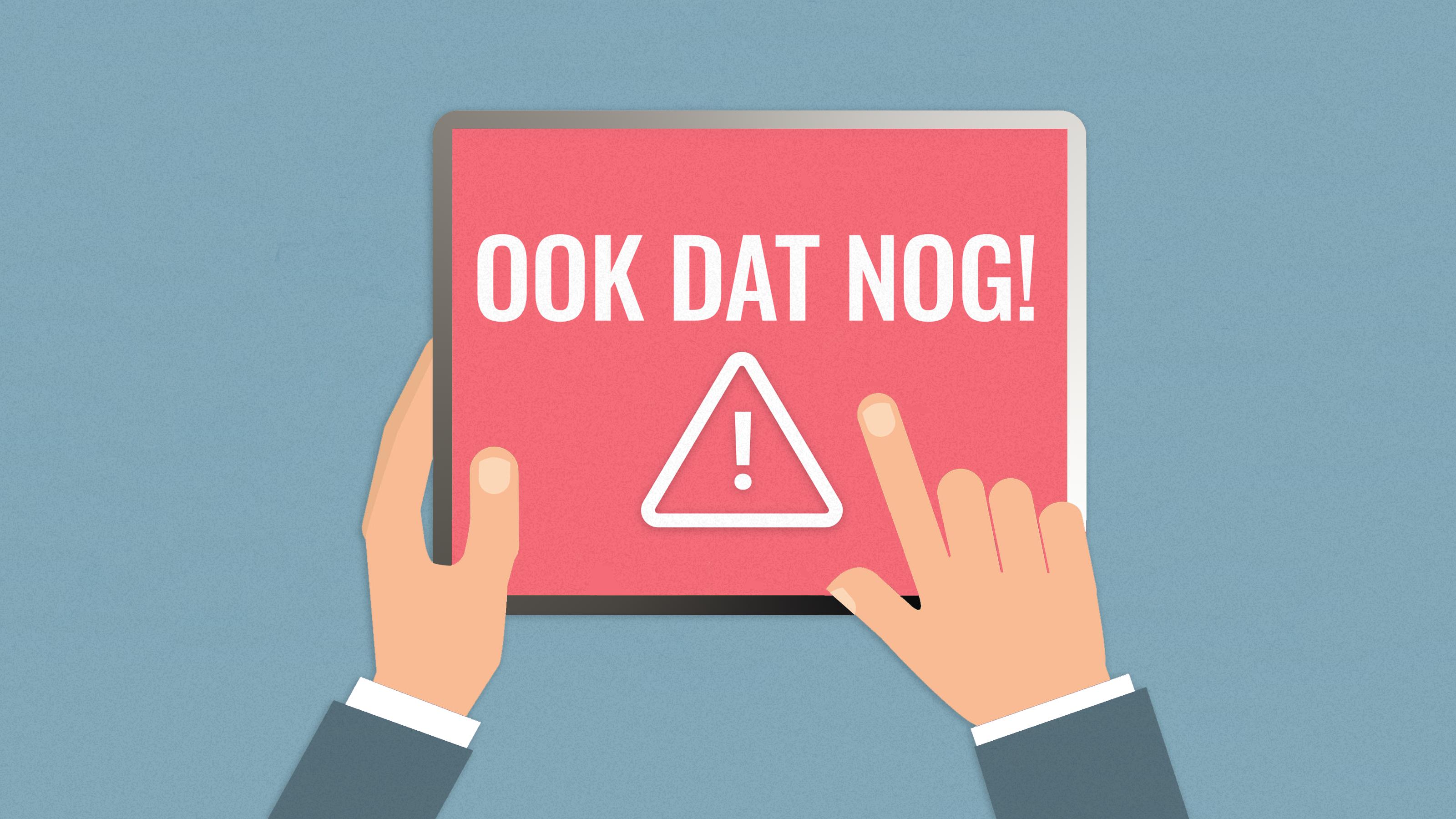 Monteur vergeet bij Elisabeth Heijnen uit Koog aan de Zaan gaskraan open te draaien na herstelwerkzaamheden