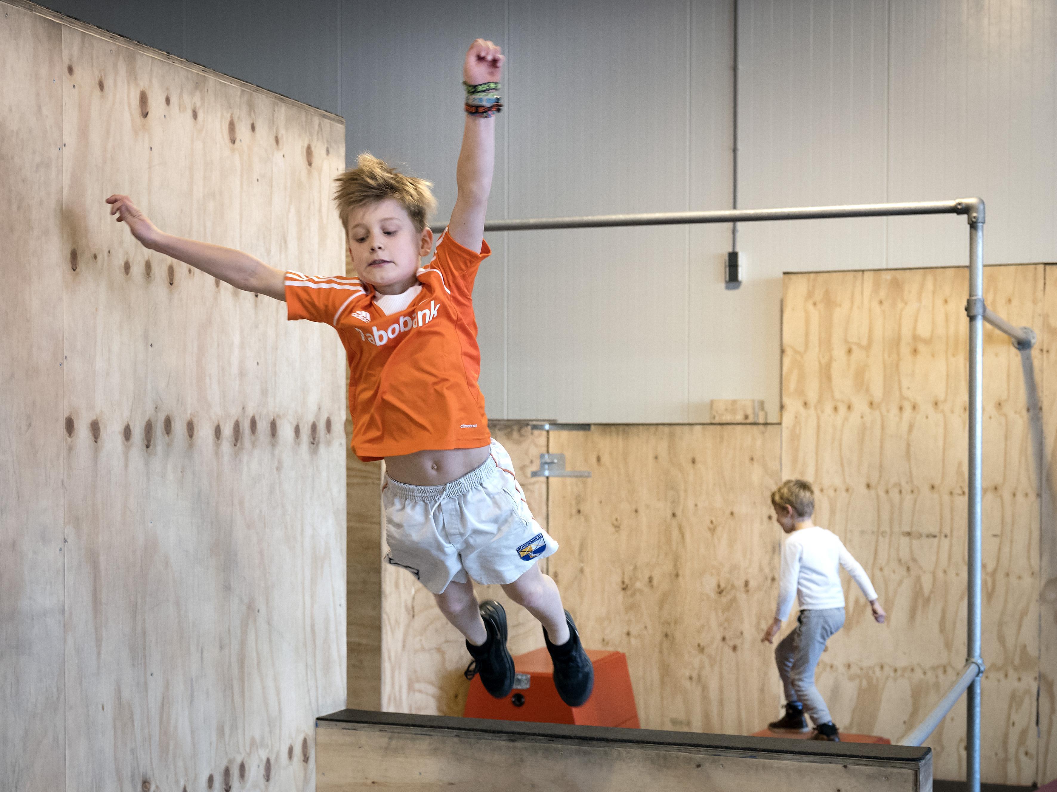 Haarlem heeft binnenkort een freerunhal, Munki Motion opent 'academy' in Spaarnestad