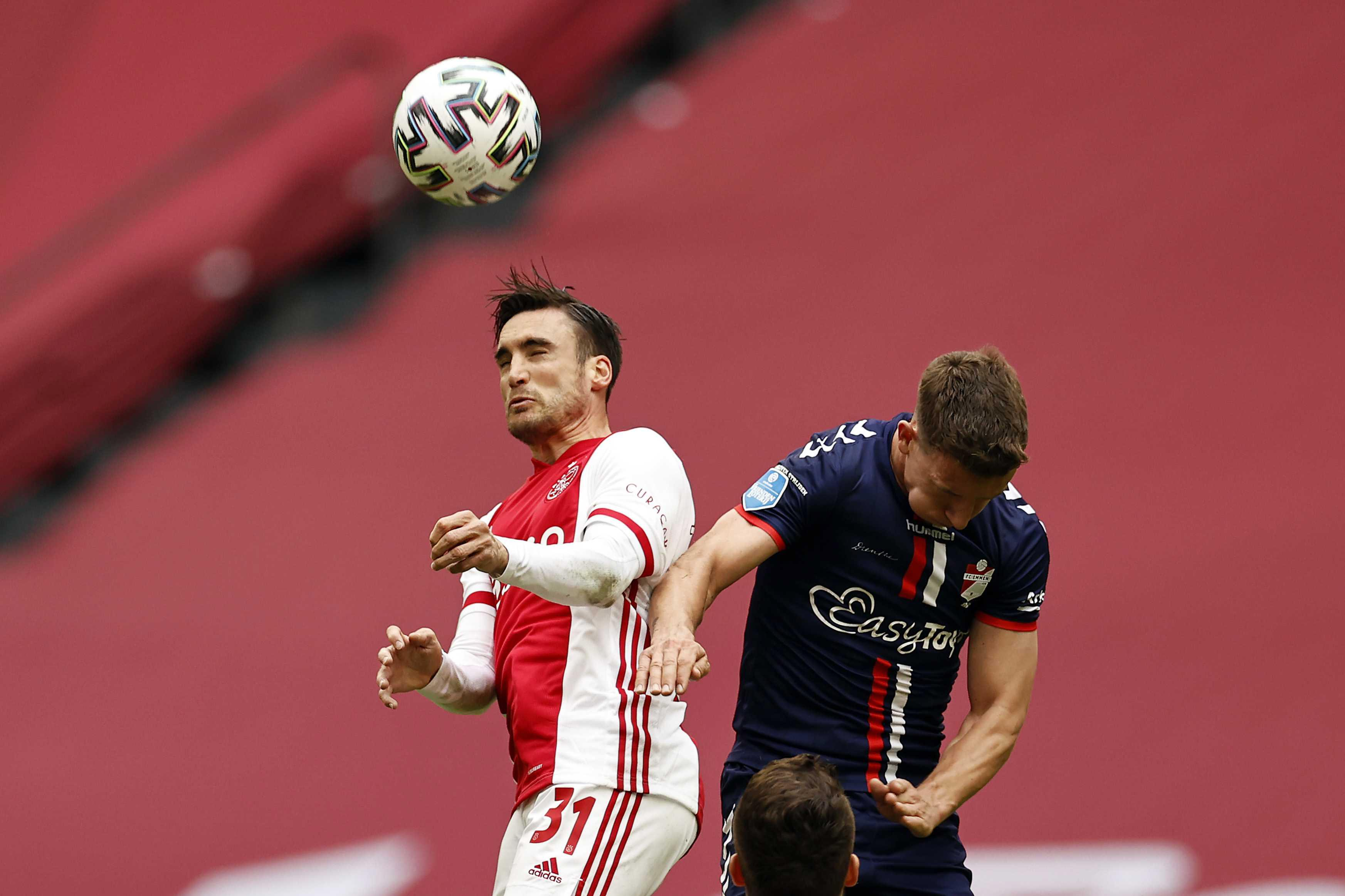 Ajax stuurt Tagliafico op vakantie