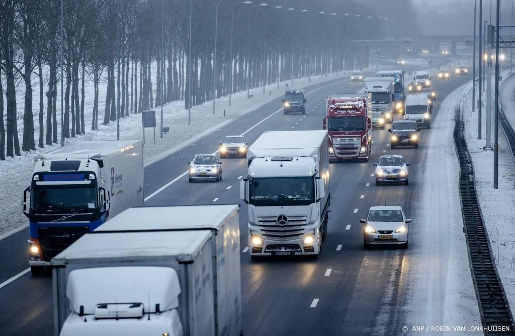 Rijkswaterstaat: nog steeds gevaarlijk op de weg