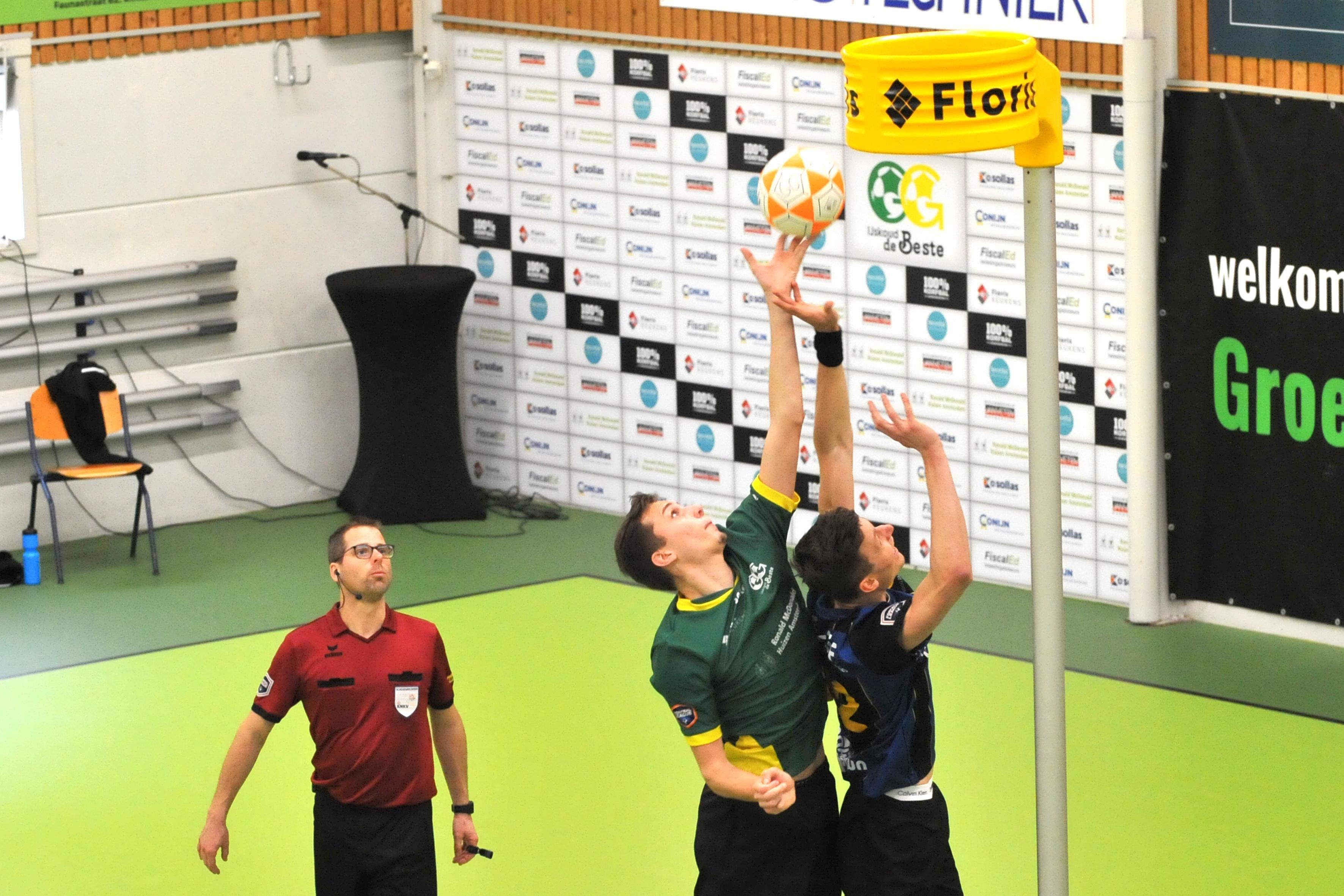 Groen Geel-korfballer Terrenc Griemink weer bij Nederlands team aangesloten