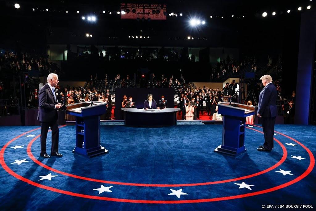 VS: laatste verkiezingsdebat tussen Trump en Biden begonnen