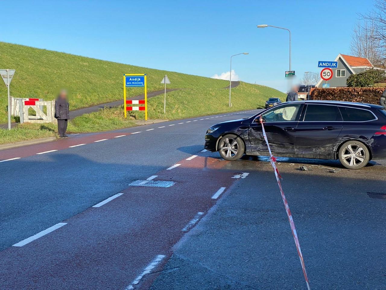 Aanrijding in Andijk; bestuurder die doorreed inmiddels opgepakt [update]