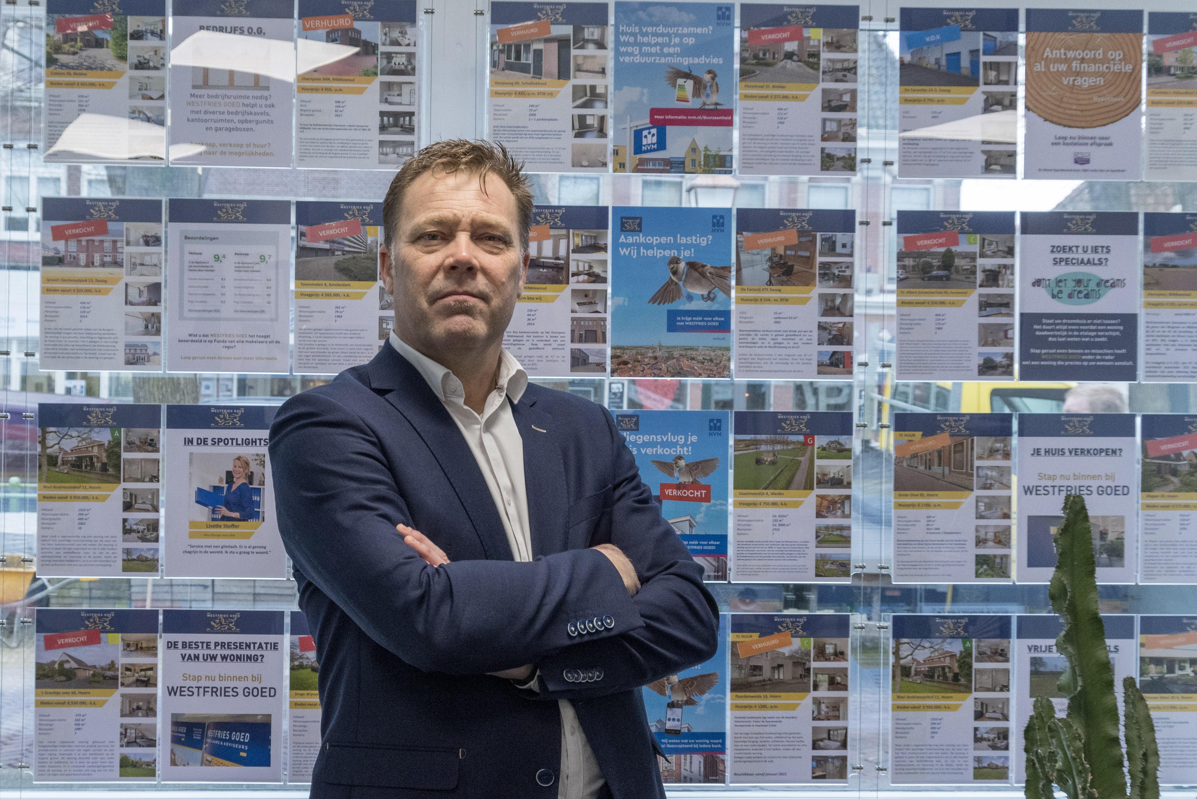 Makelaar wil cirkel doorbreken dat kopers en verkoper op elkaar zitten te wachten: 'Tijd voor rigoureuze maatregelen'