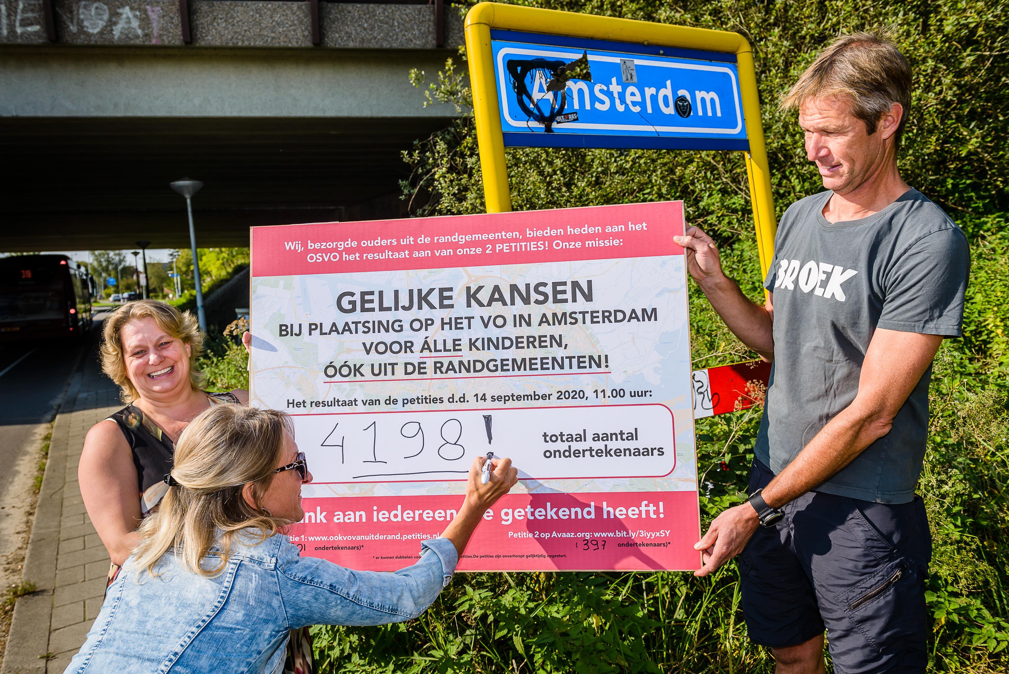 Krijgen Amsterdamse leerlingen voorrang ten koste van leerlingen uit Waterland en Landsmeer? OSVO is er nog niet uit