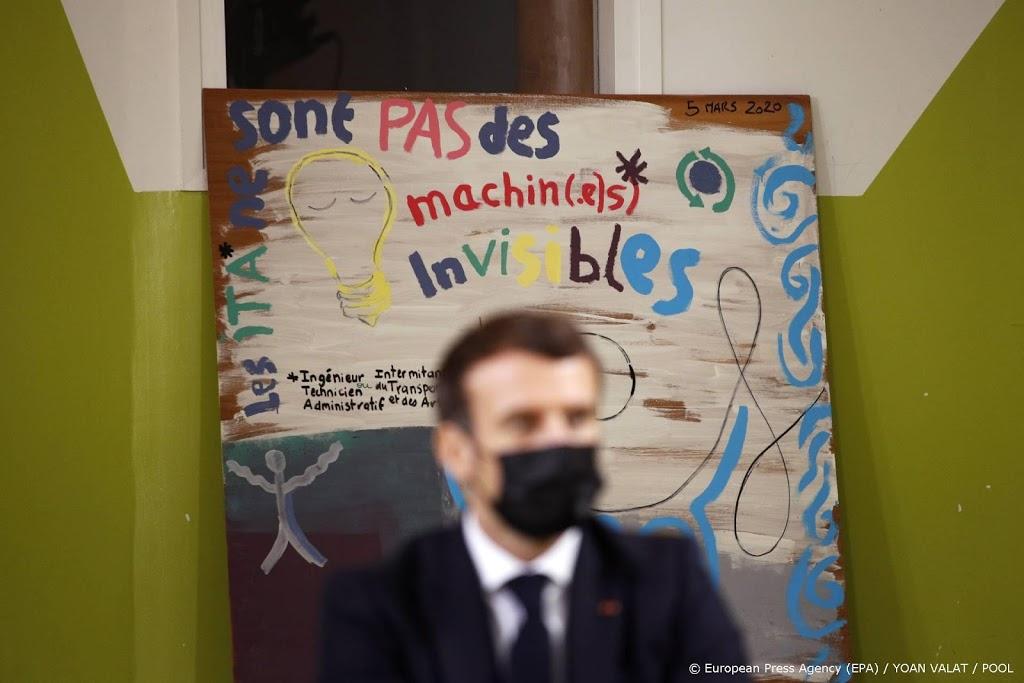 Macron wil hongerige studenten goedkoop te eten geven