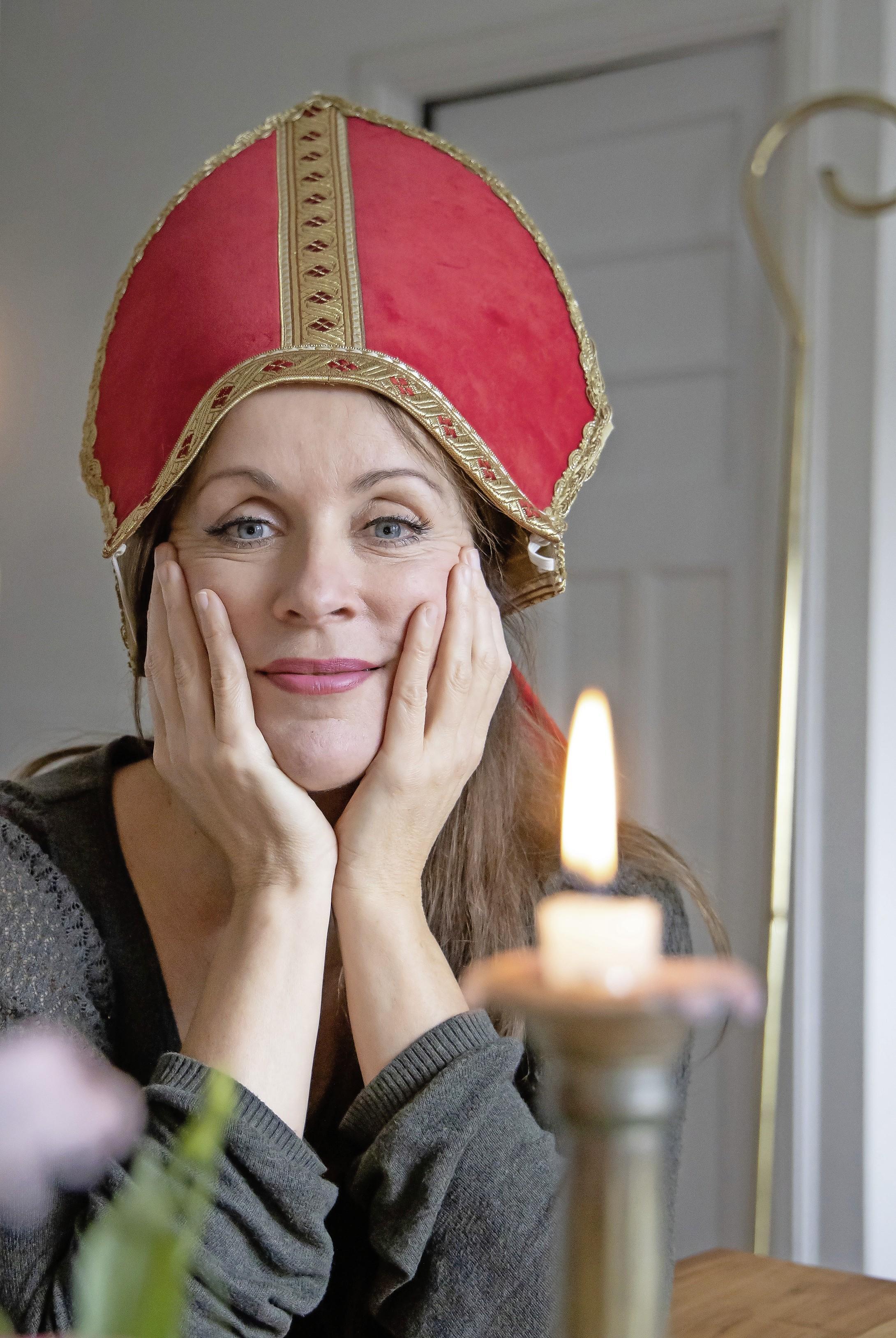 Cabaretier Annick Boer was altijd ziek met Sinterklaas