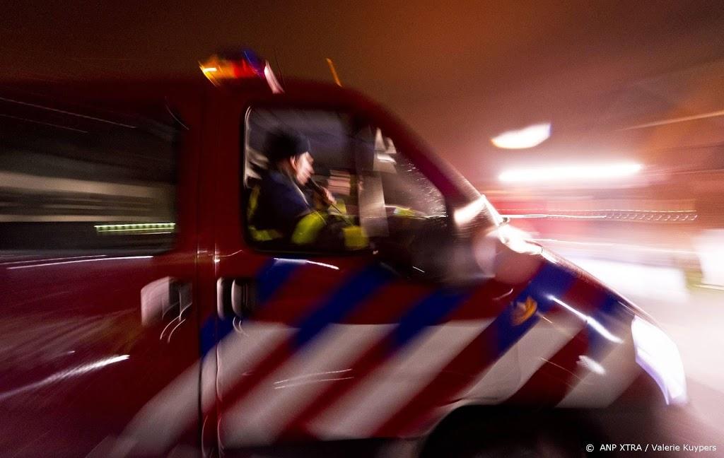 Brand in loods vuilstort in Leeuwarden