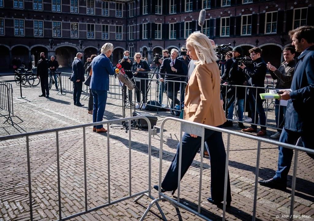 Ook D66-leider Kaag wil niets zeggen over toeslagenkwestie