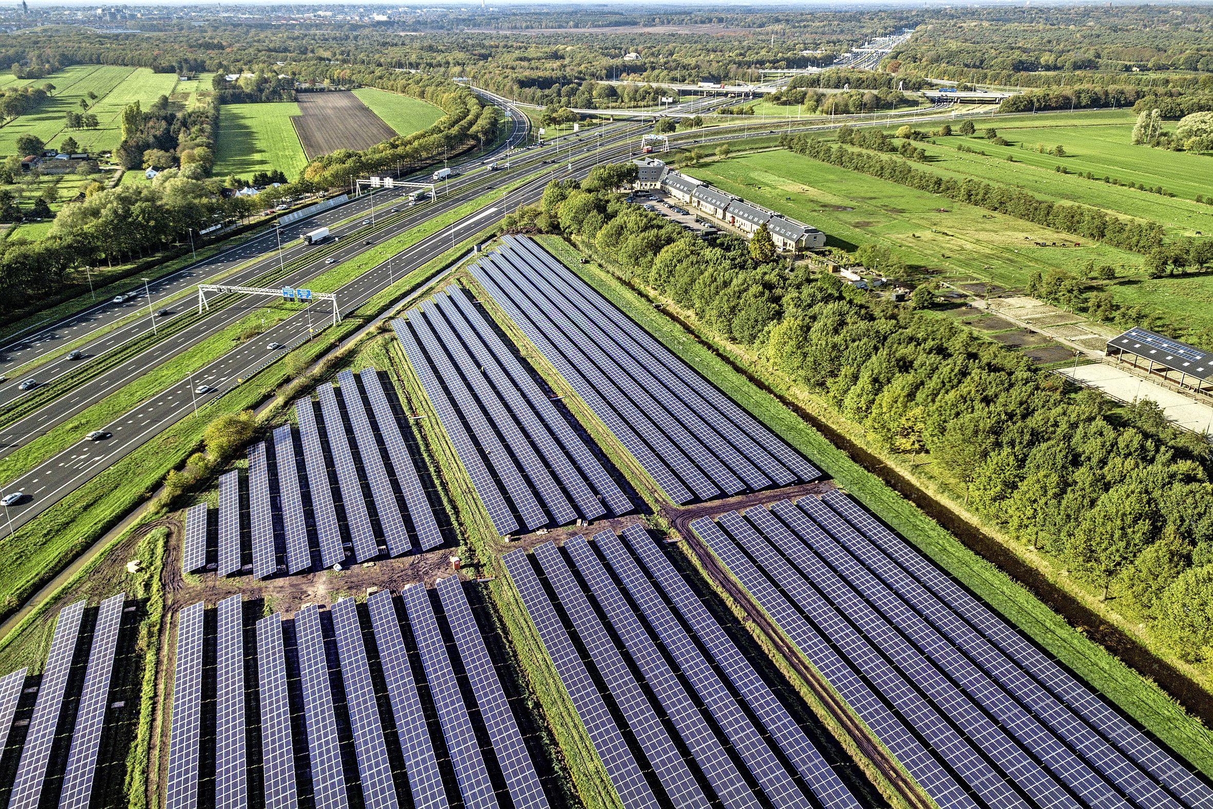 Zonnevelden mogen straks ook in Hillegoms 'Hollandse weides', zoals de Oosteinderpolder