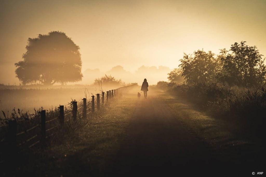 Waarschuwing voor zeer dichte mist in grote delen van Nederland
