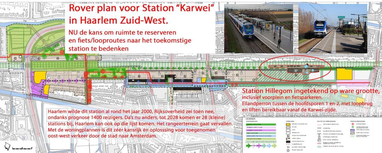 'Bouw NS-station in Haarlem-Zuidwest'