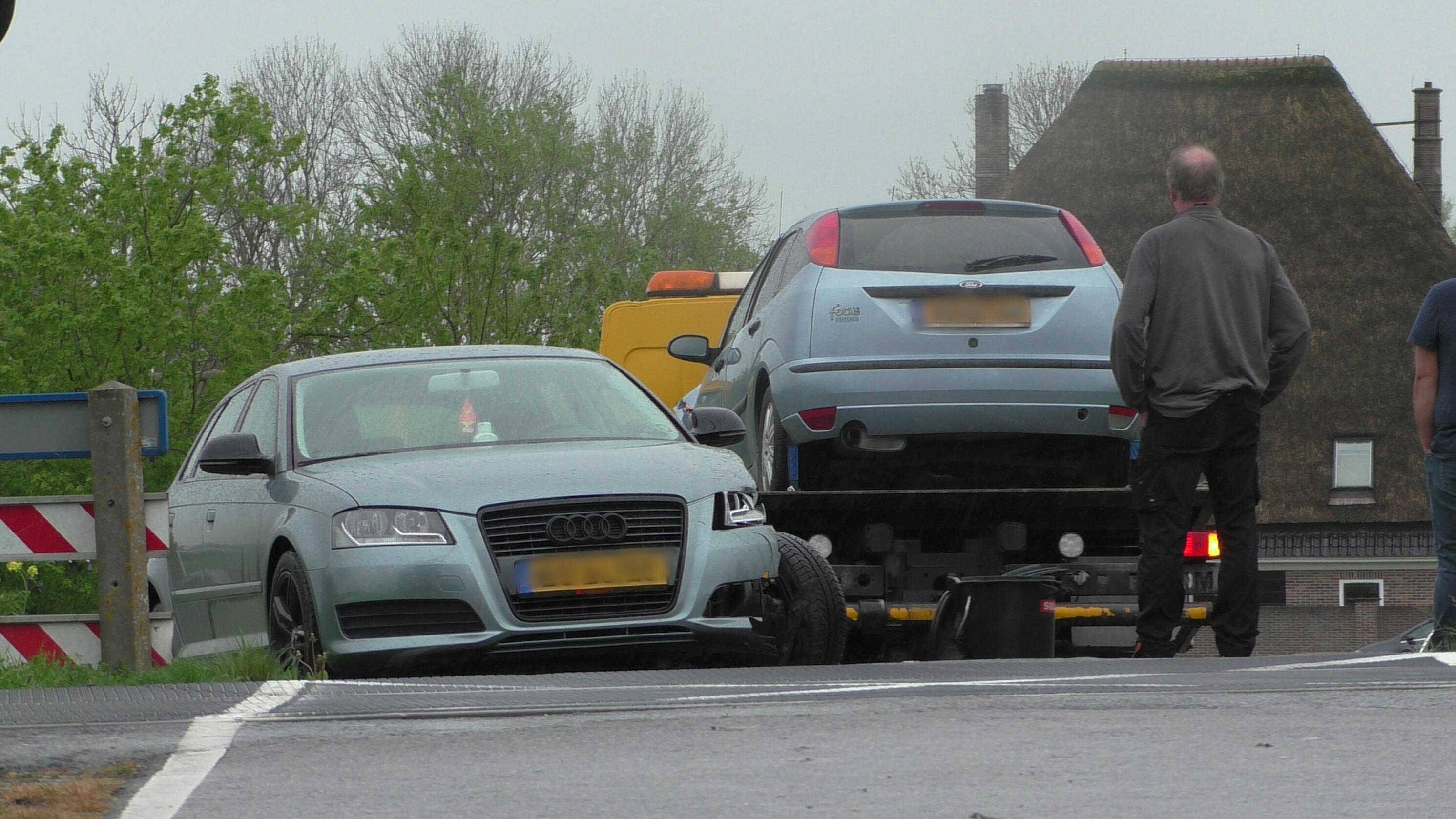 Treinverkeer tussen Heerhugowaard en Obdam stilgelegd door botsing auto's