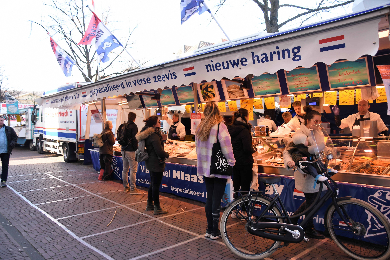 Leidse weekmarkten mogelijk naar Lammermarkt en Beestenmarkt