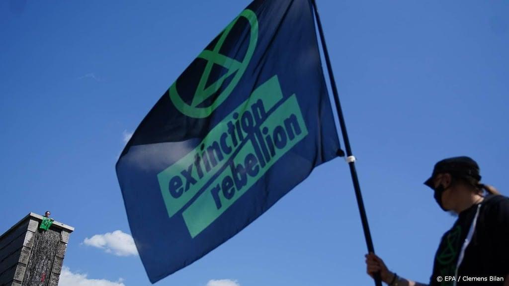 Extinction Rebellion houdt 'Lenterebellie' in meerdere steden
