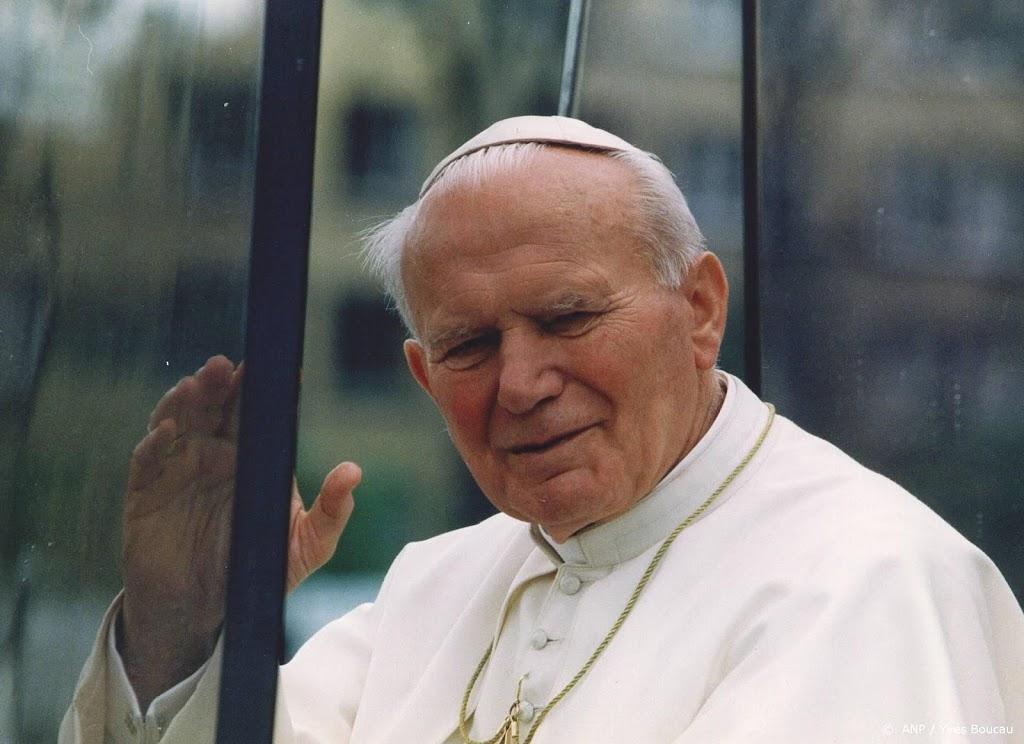 Relikwie van paus Johannes Paulus II gestolen