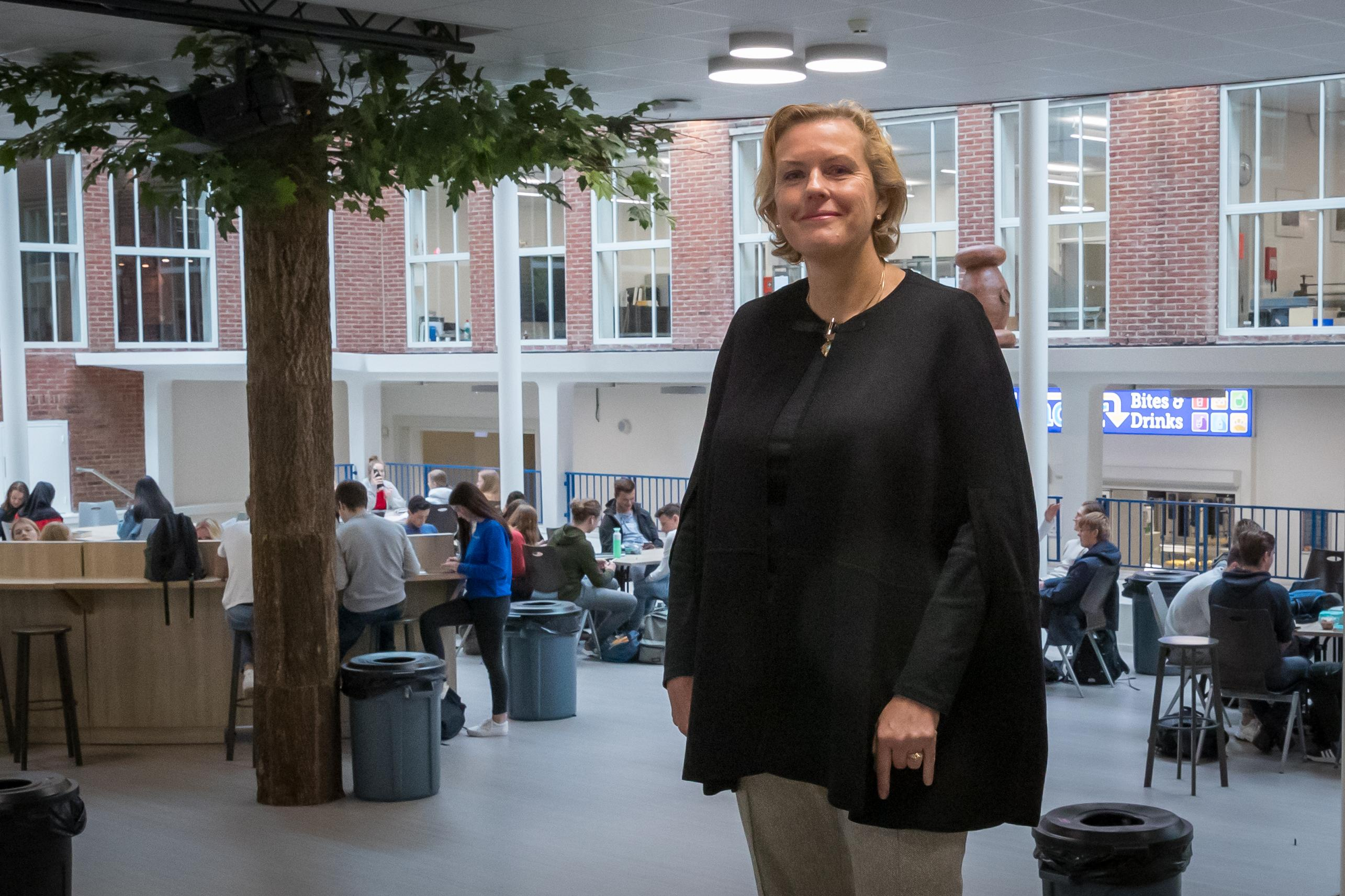 Jannetje ter Punt, nieuwe rector Werenfridus, gelooft niet in corona-achterstand: bij thuisonderwijs pakken leerlingen zelf de regie