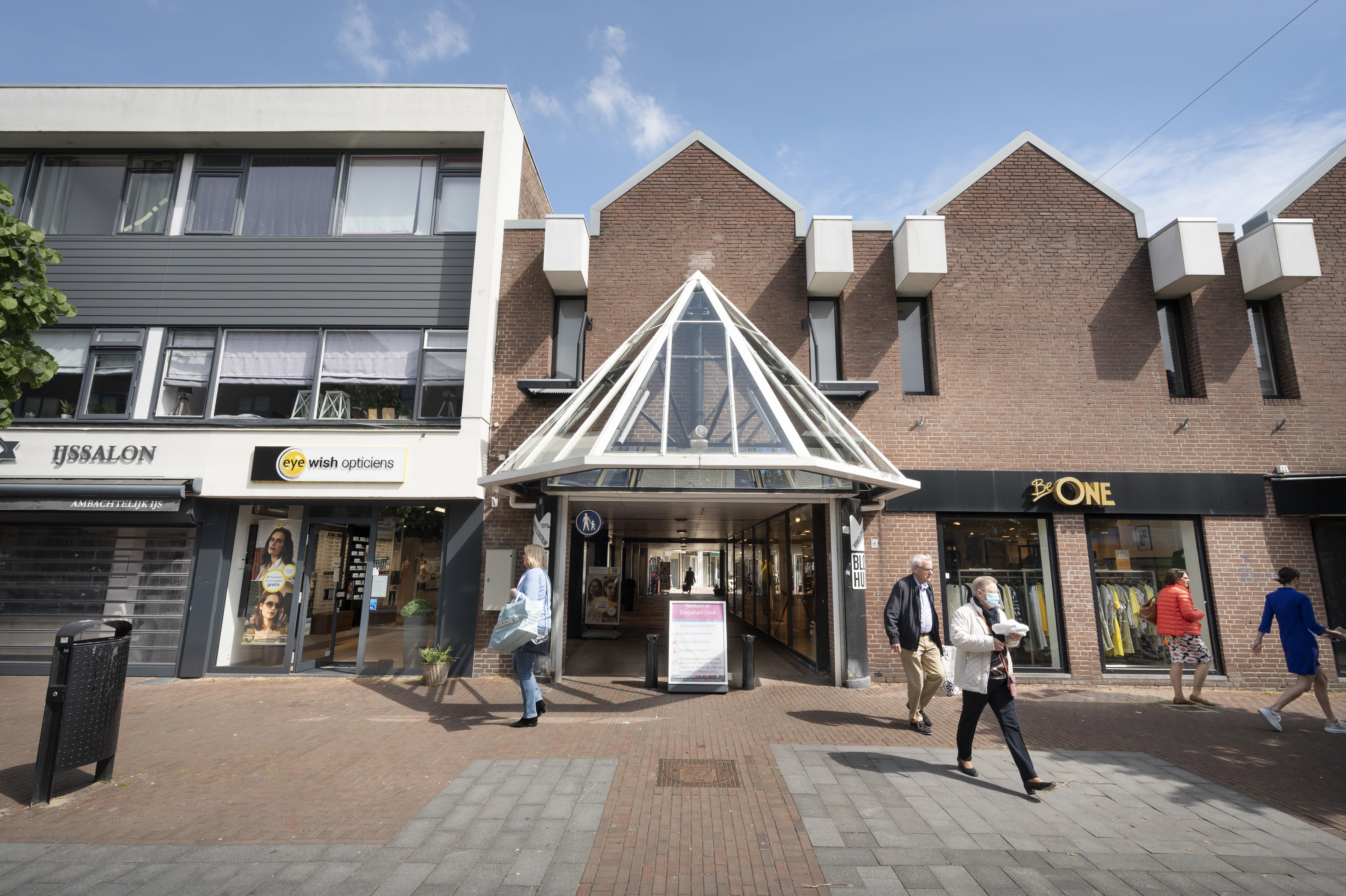 Lisse knapt winkelcentrum Blokhuis op: 'Huzarenstukje in coronatijd'