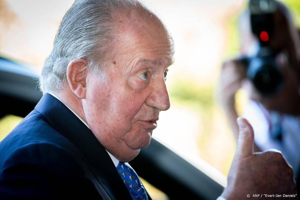 'Spaanse koning Juan Carlos in Portugal'