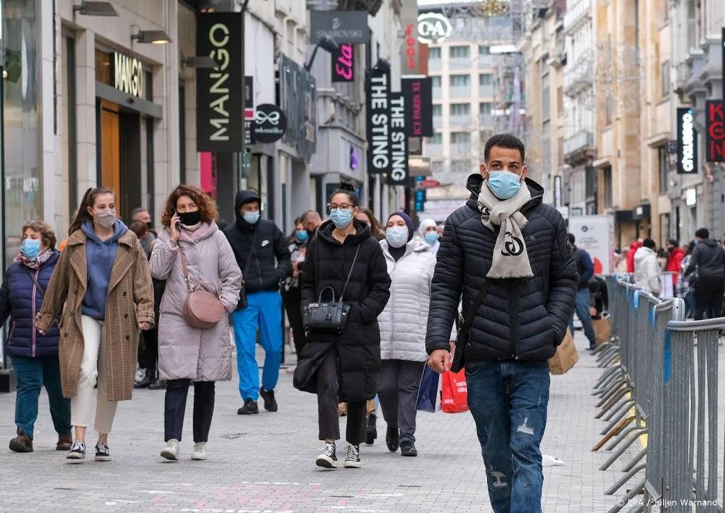 Grote drukte in Brussel op eerste zaterdag dat winkels open mogen