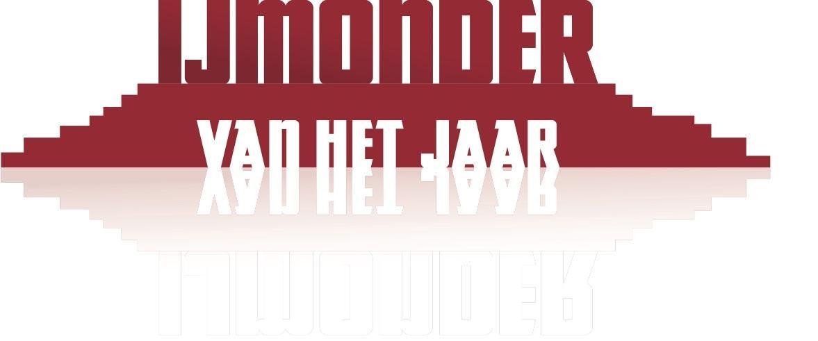 Bas en Esther wisselen hele weekend stuivertje in IJmonder van het jaar-verkiezing