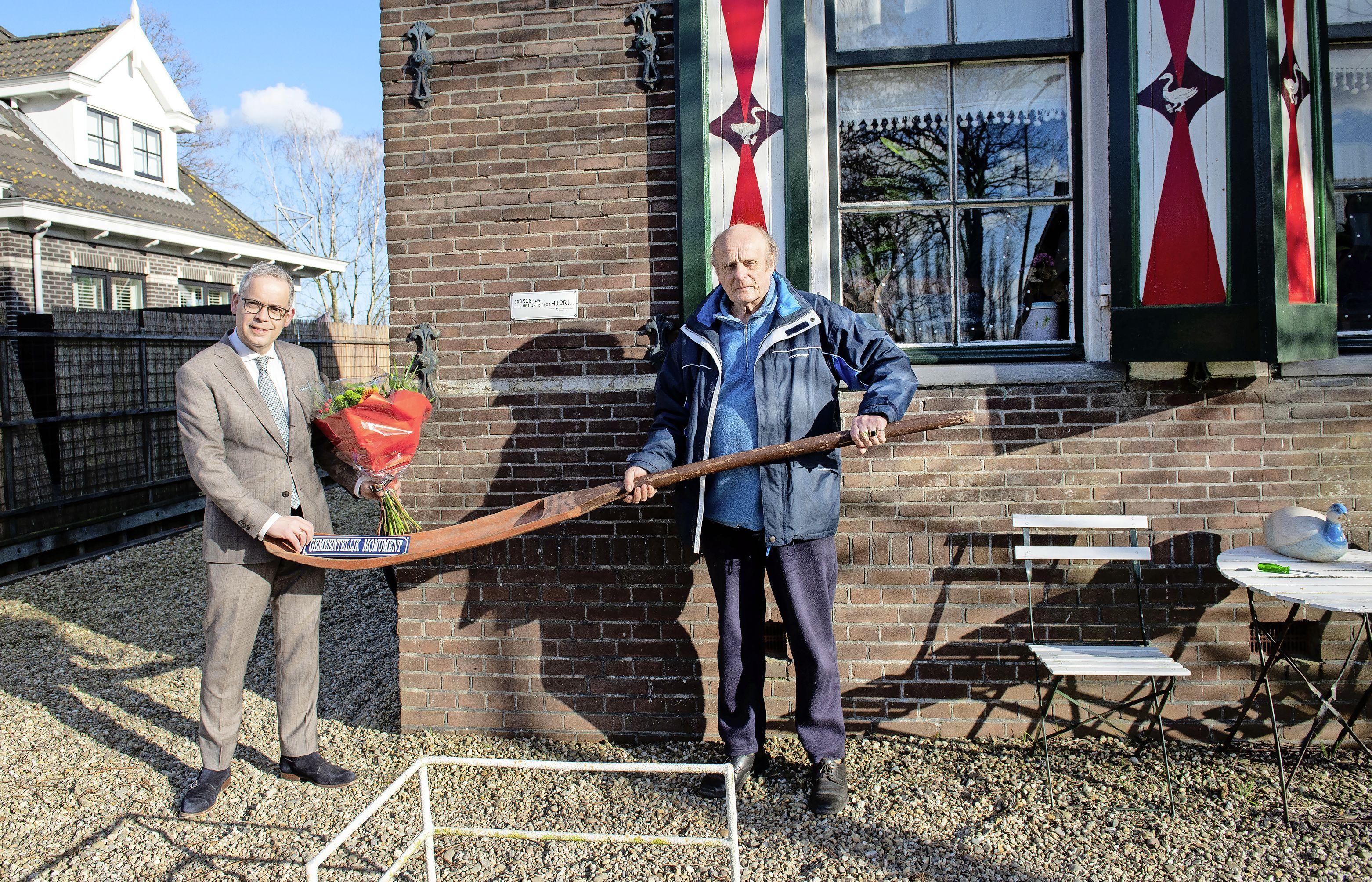 Landsmeers Grietje Tump heeft monumentstatus. Frans Poulain wil zijn levenswerk veilig kunnen doorgeven