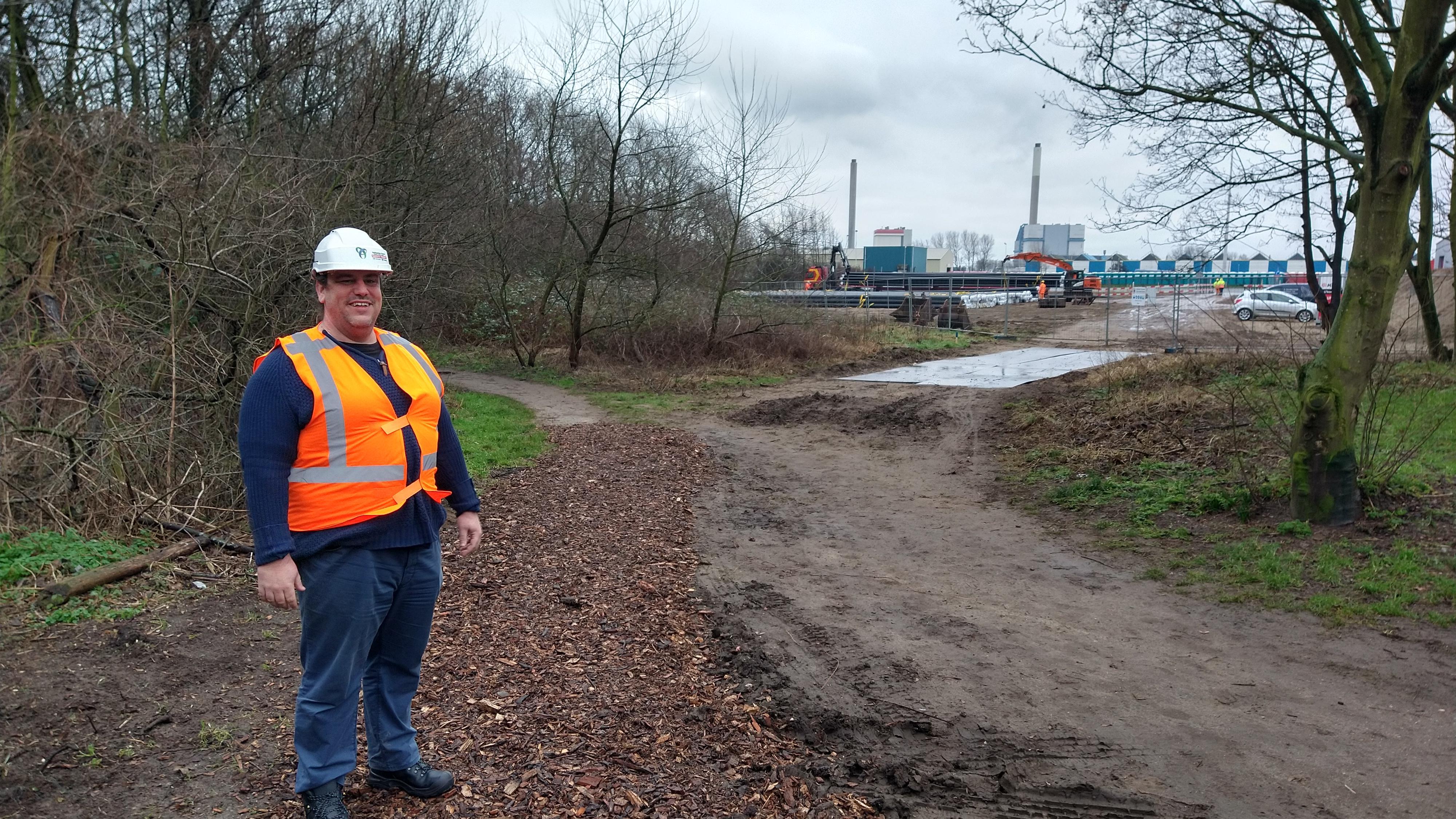 Kabels leggen voor Tennet: rekening houden met ijsvogel en beukenlaantjes in park Westerhout in Beverwijk
