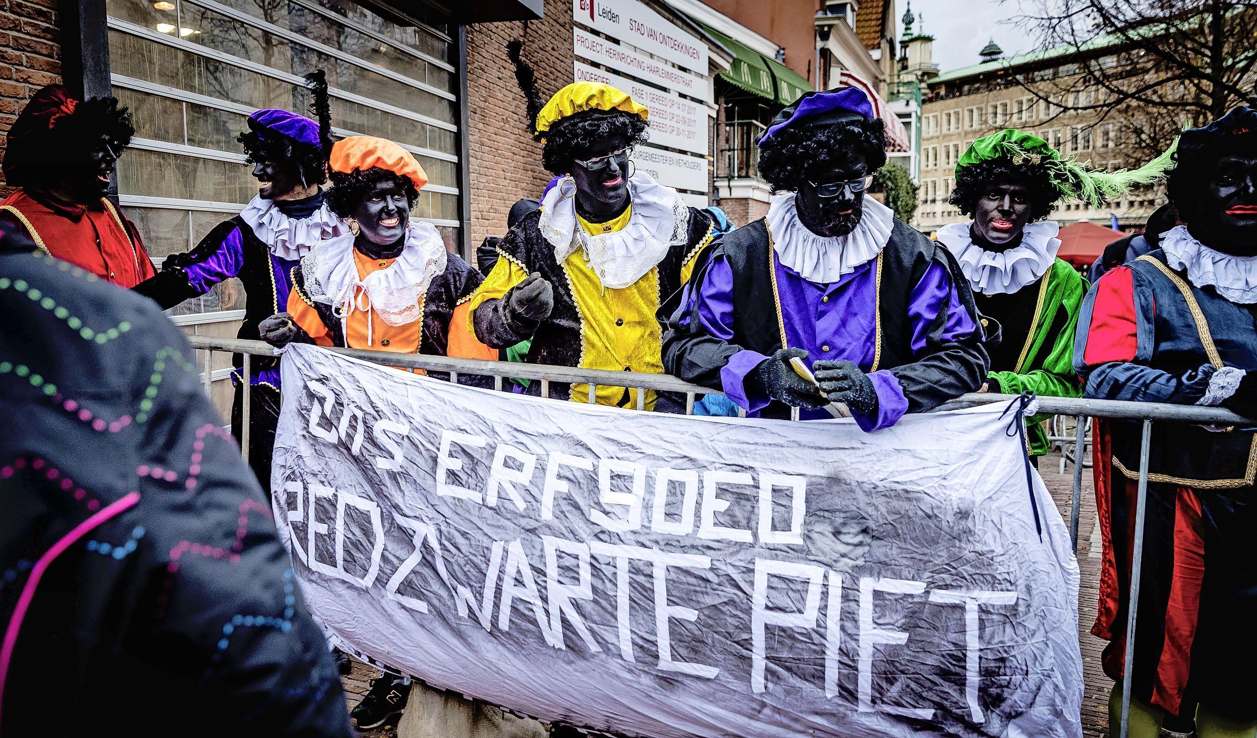 Actiegroepen hebben gemengde gevoelens bij Leidse zwarte-piet-motie