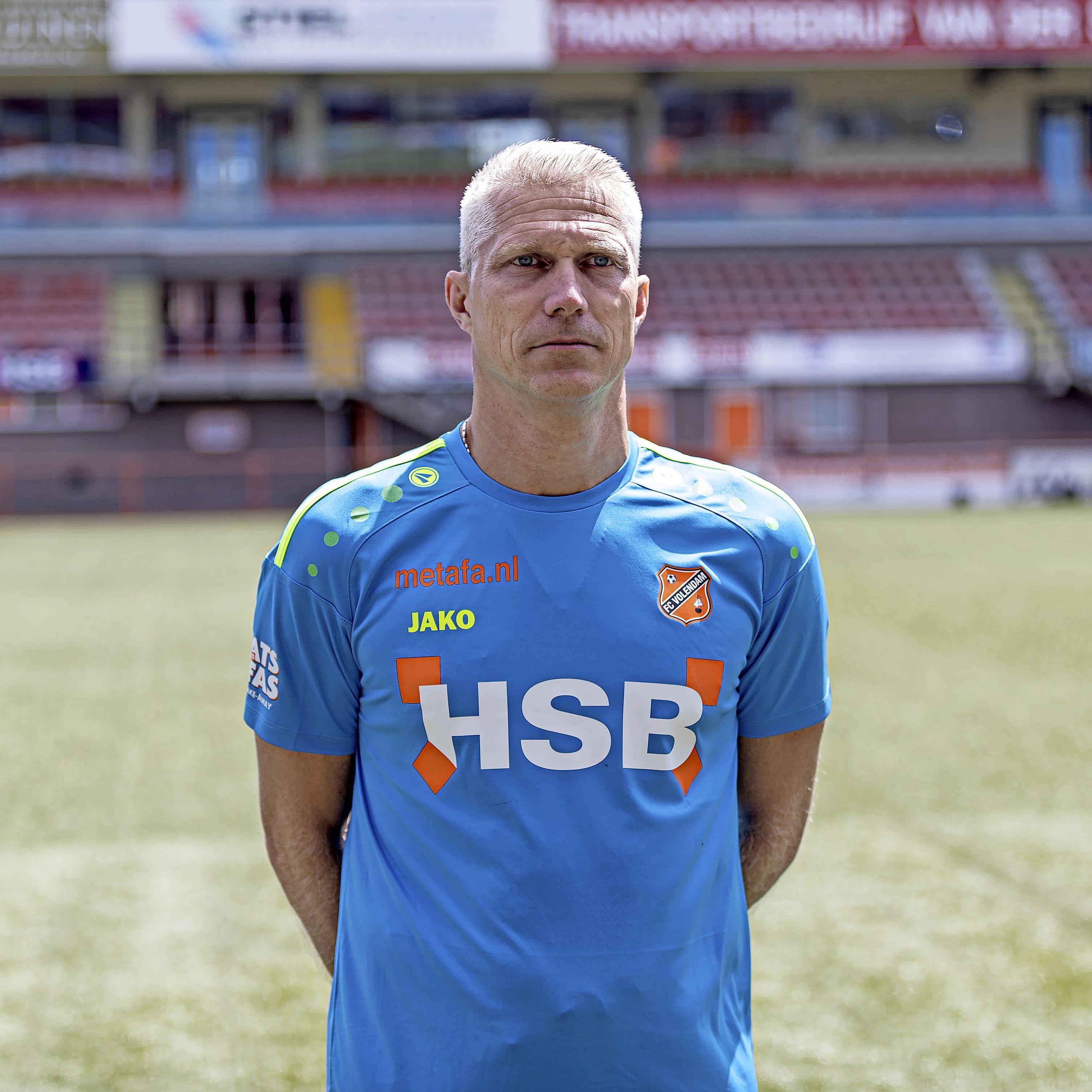 Keeperstrainer Edwin Zoetebier verlaat FC Volendam na 'verschil van inzicht'