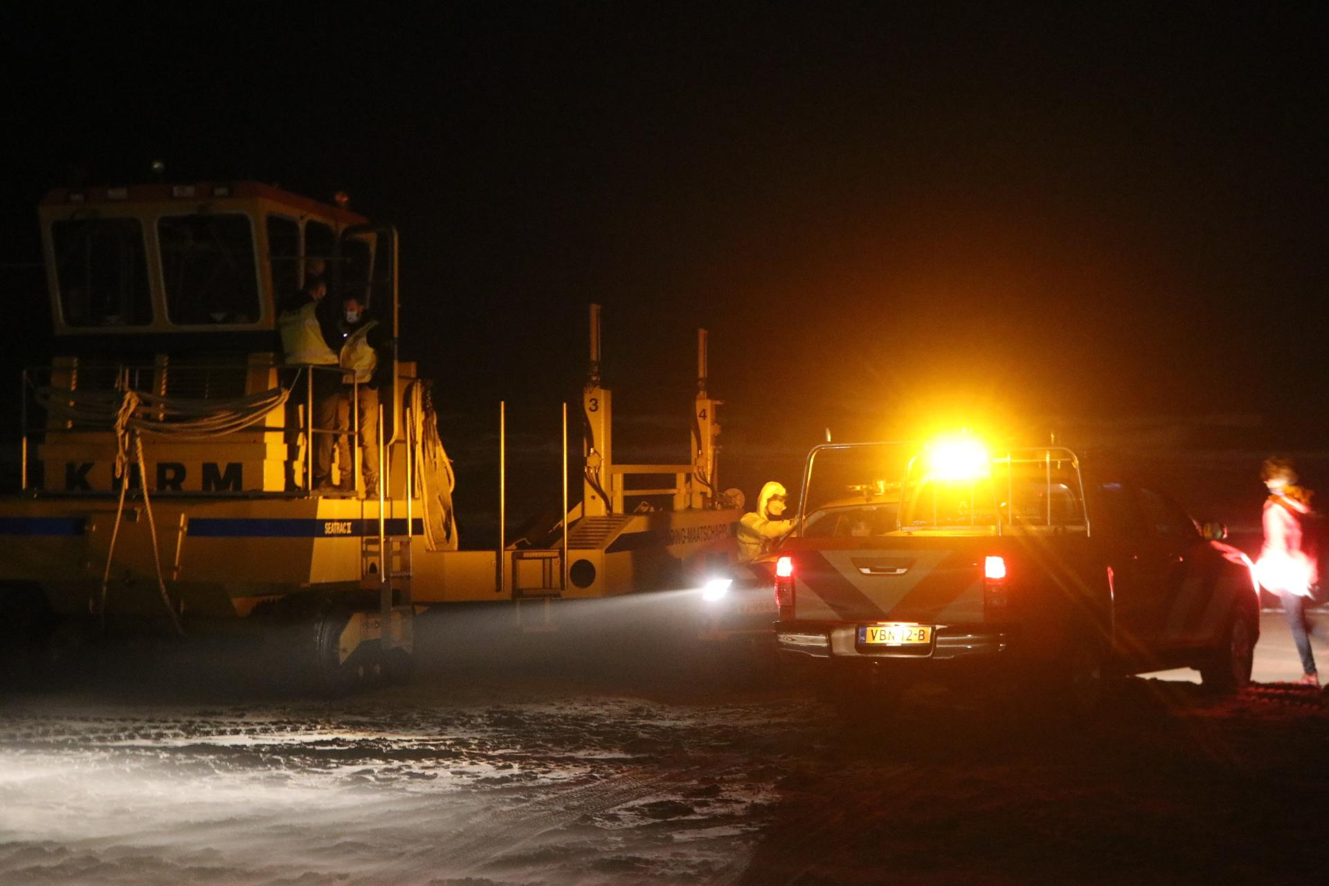 Vermiste supper vanuit Noordwijk veilig in Zandvoort aangekomen [update]
