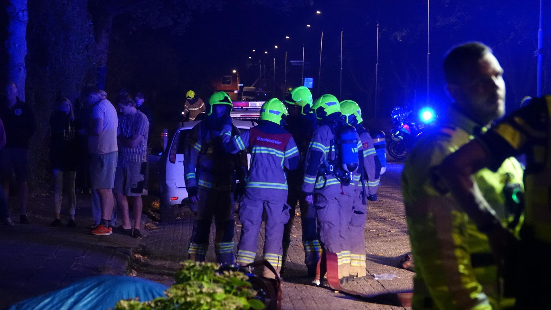 Brand verwoest schuur in Bovenkarspel