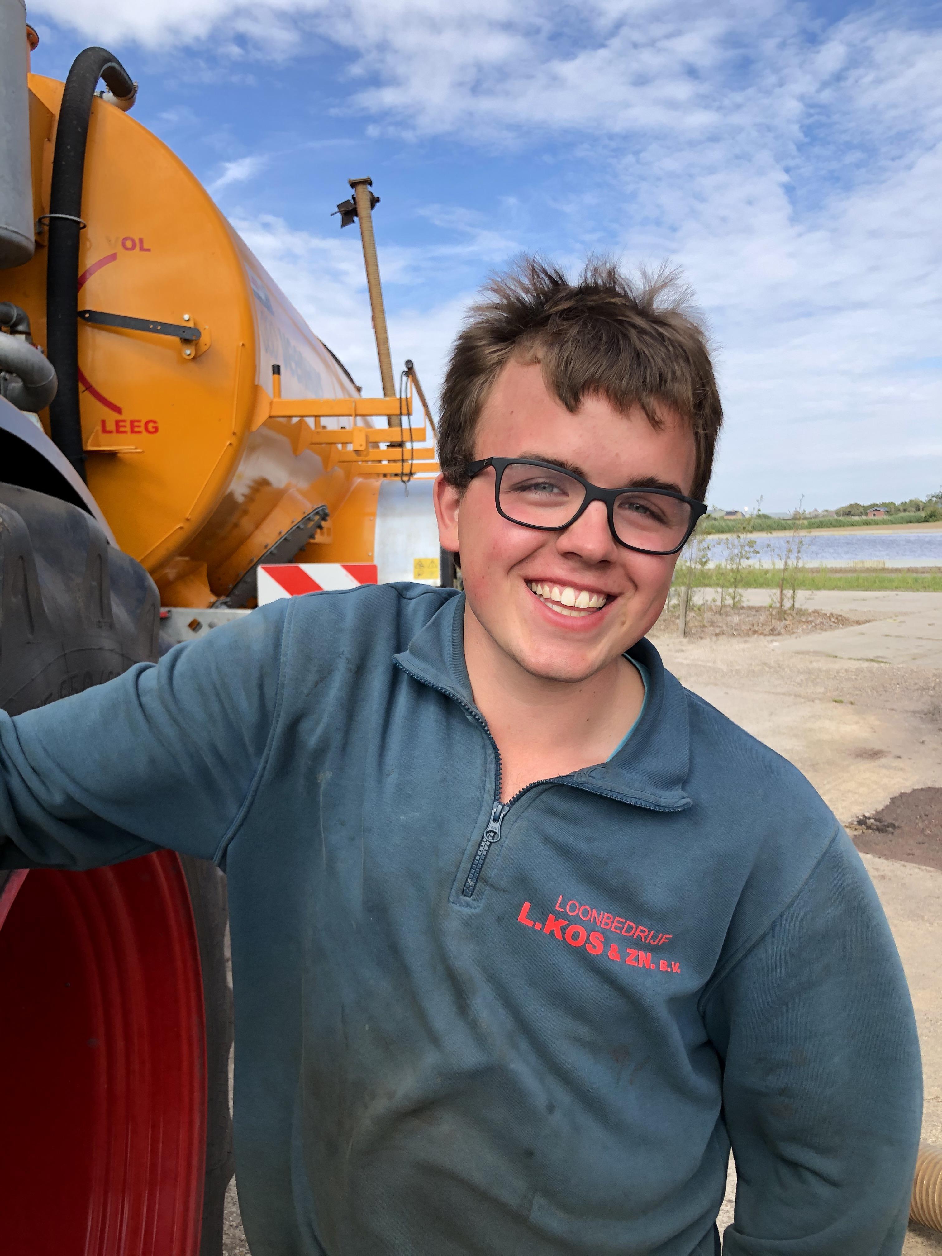 Maurice (20) is gek op 't Zand. 'Het is knus en klein. Je hebt er alles wat je nodig hebt'