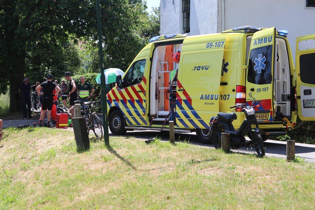 Traumahelikopter ingezet bij ongeluk in Vreeland