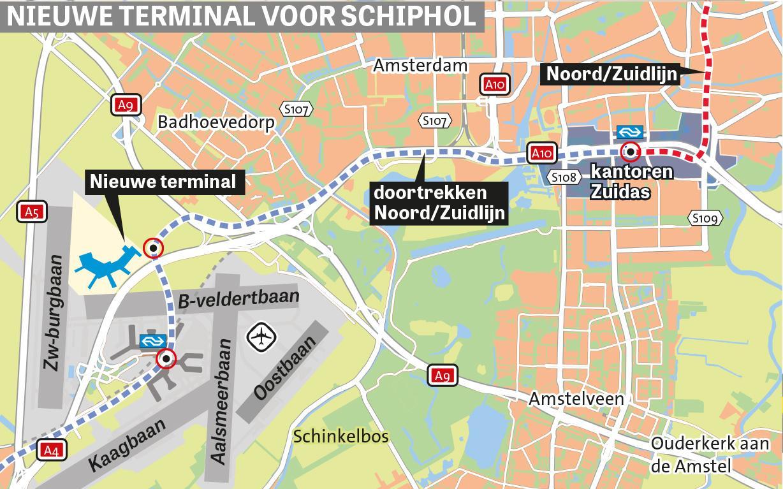 Verkeersknooppunt bij Badhoevedorp moet groei Schiphol opvangen
