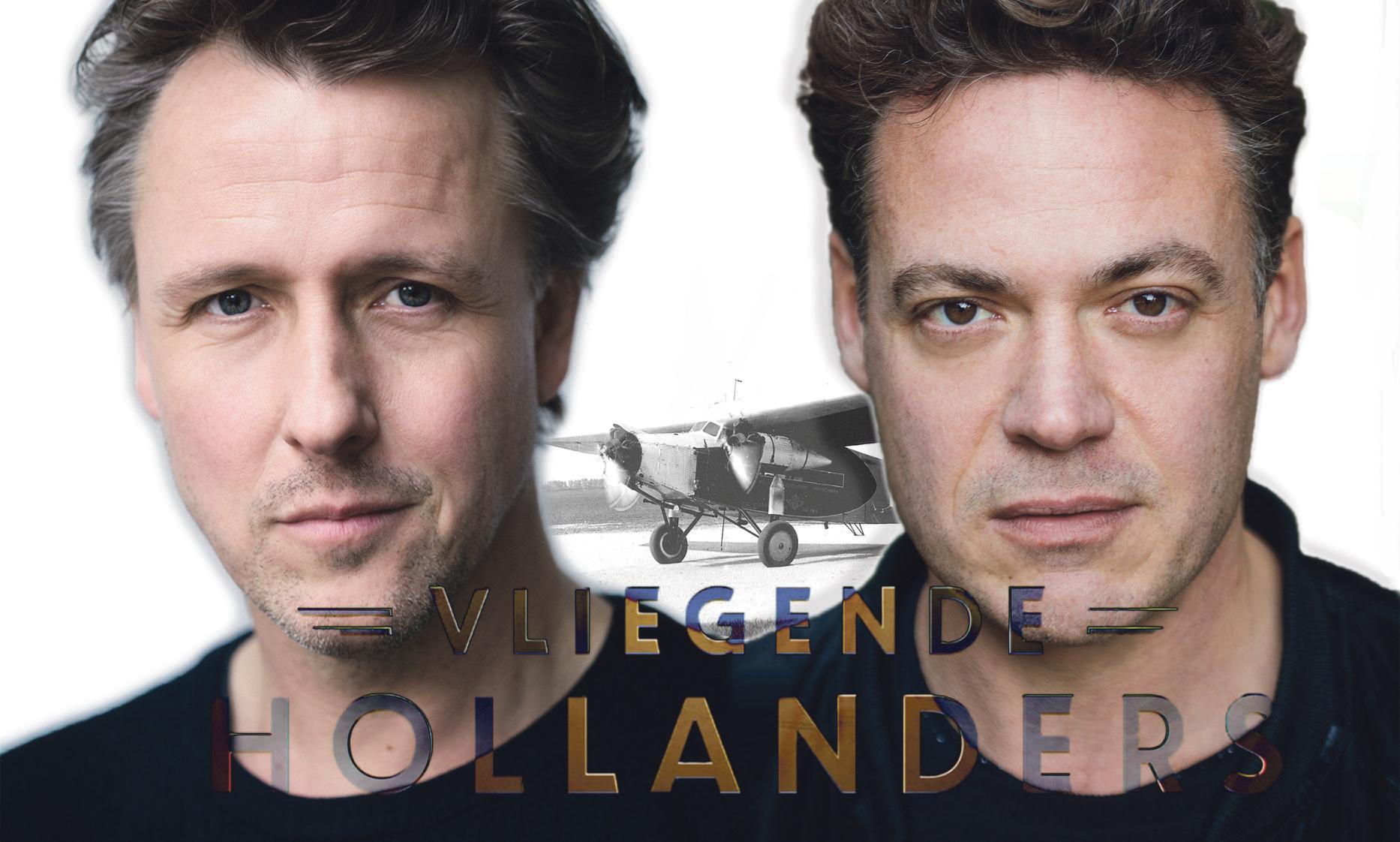 Daan Schuurmans als Plesman en Fedja van Huêt als Fokker in dure tv-dramaserie