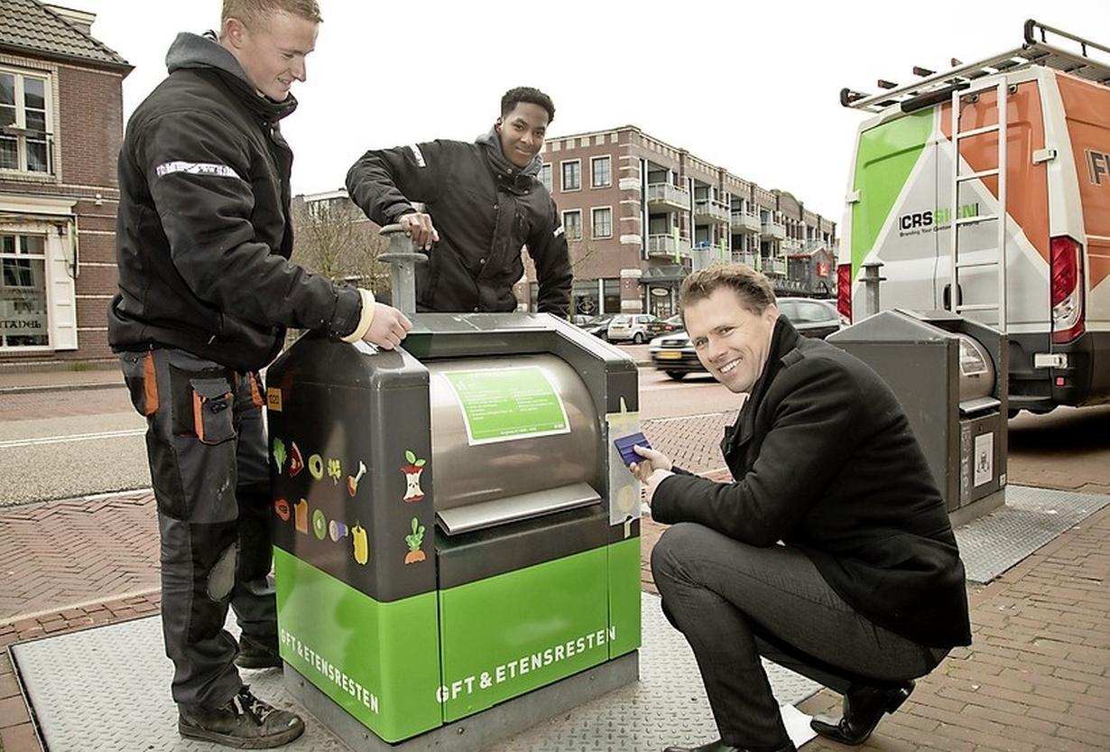 Bewoner van appartement in IJmuiden-Zeewijk kan straks ook afval scheiden, ondergrondse containers komen eind dit jaar