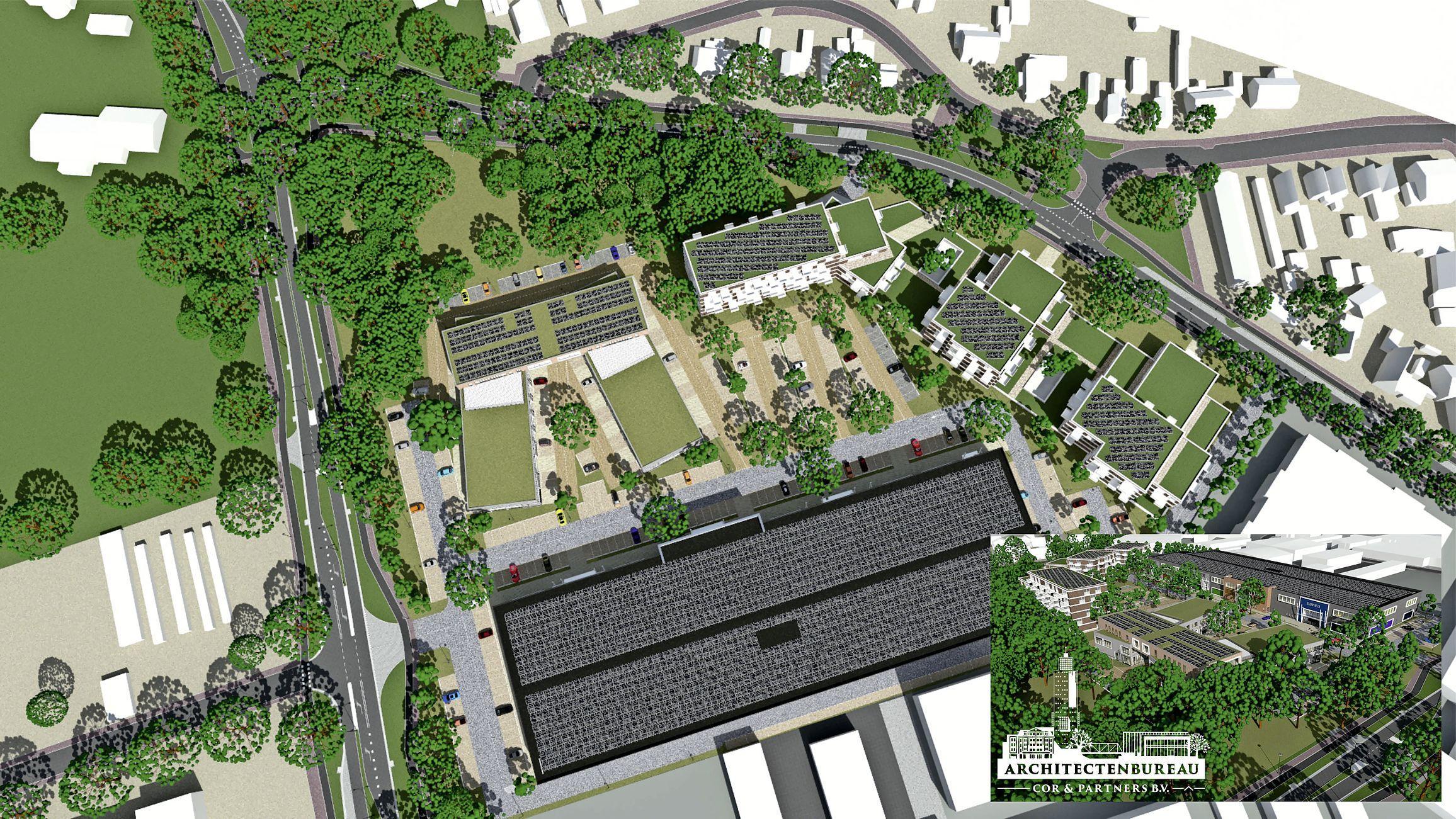 Bouwmarkt Gamma heeft getekend voor een plek op TBS-terrein in Soest, eigenaar is er blij mee: 'Mooie naam om aan boord te hebben'; Onderzoek naar mogelijke woningbouw nog niet gestart