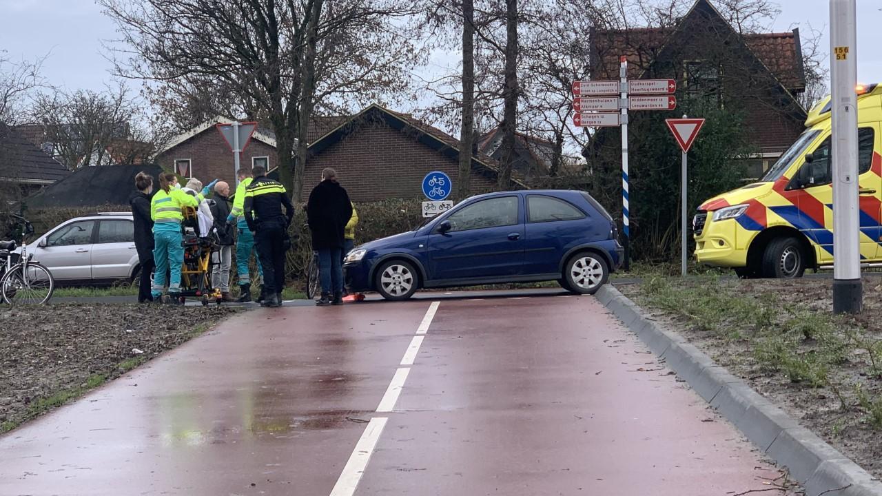Fietsster loopt botbreuk op bij oversteken N504 in Noord-Scharwoude