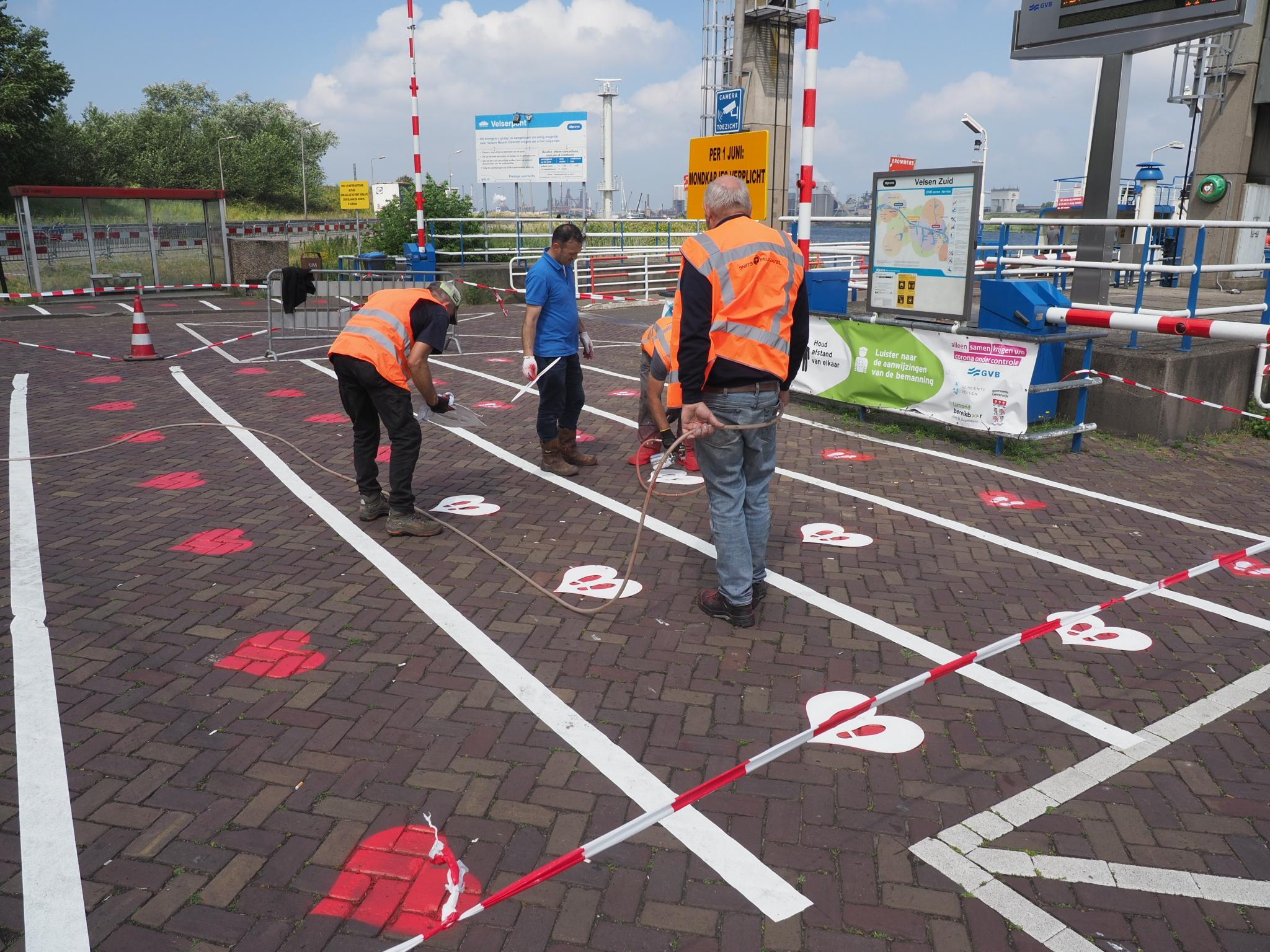 Hartjes van Amsterdam: waar moet je gaan staan als je wacht op de Velserpont
