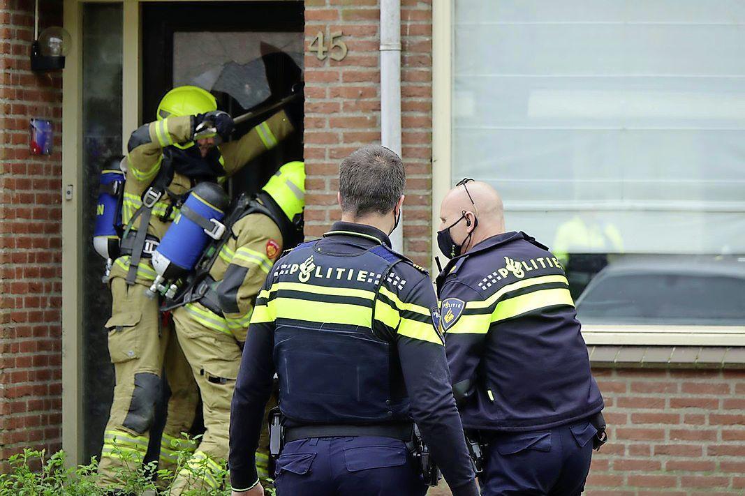 Nuchtere eigenaar na brand in Enkhuizen: 'Het huis staat er nog en er is niemand gewond'
