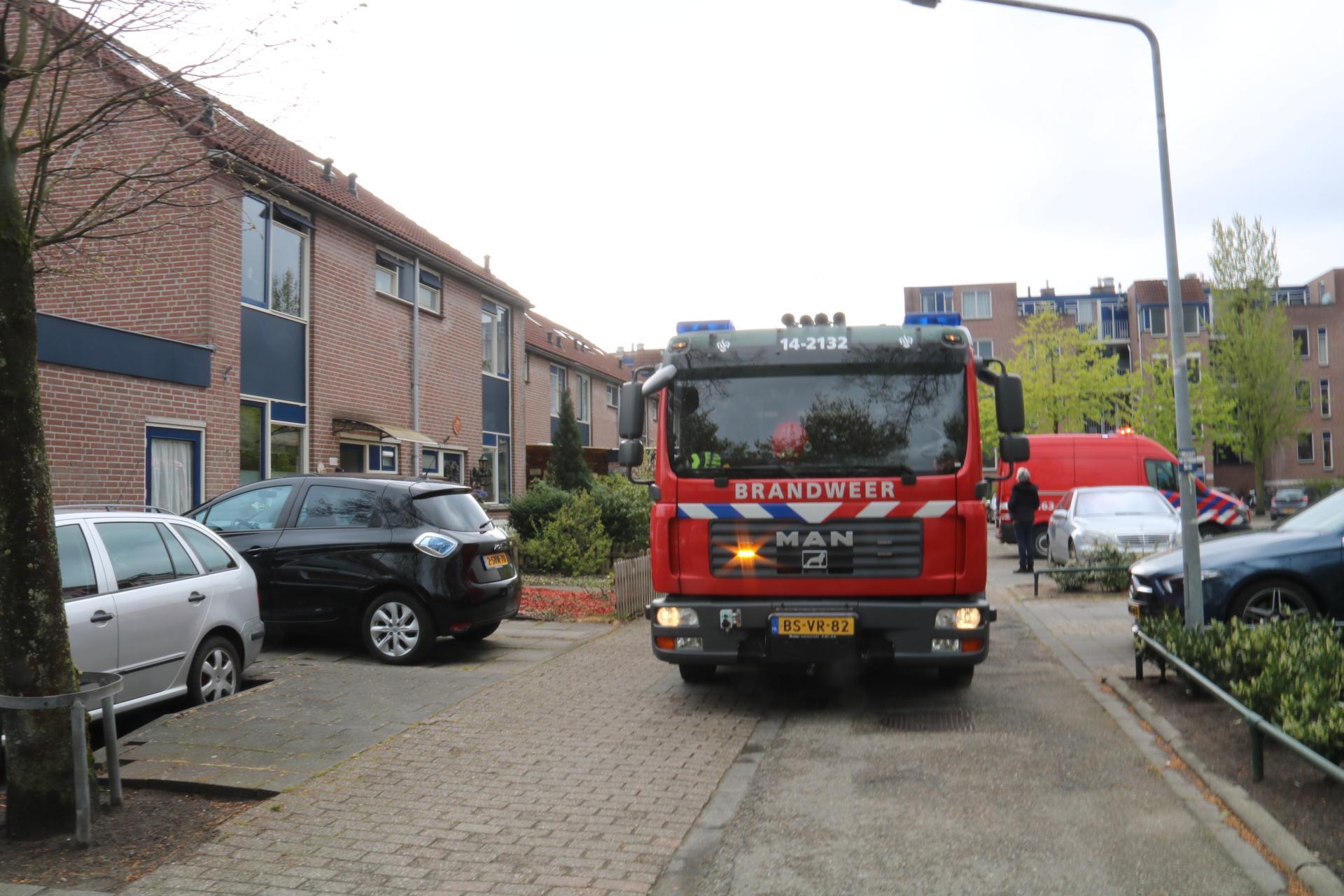 Hulpdiensten vinden wietplantage bij woningbrand in Hilversum