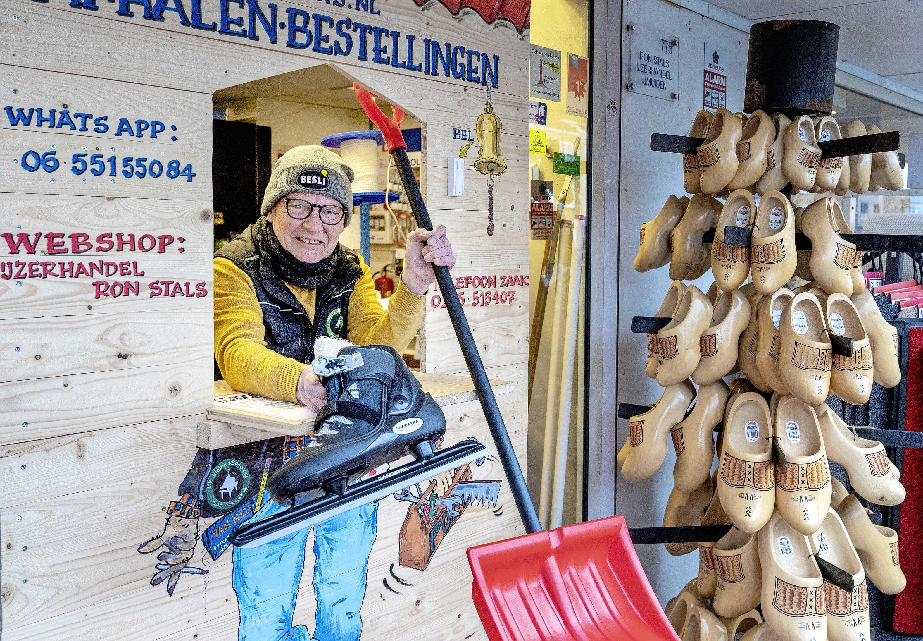 IJmond heeft wel zin in winters feestje: 'Ik word gek gebeld voor schaatsen'