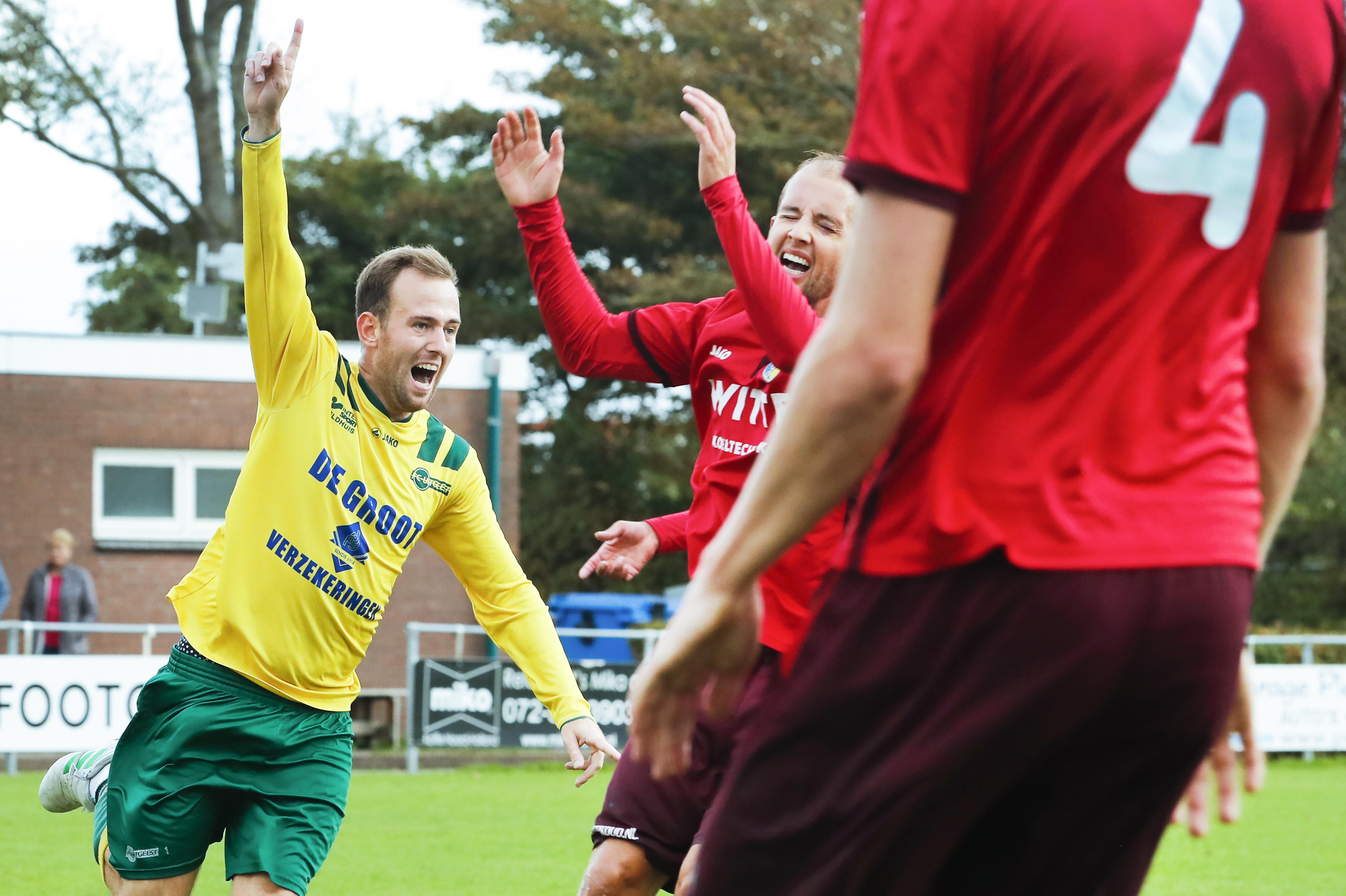 FC Uitgeest toont zich meest effectief en wijst LSVV met duidelijke cijfers terug