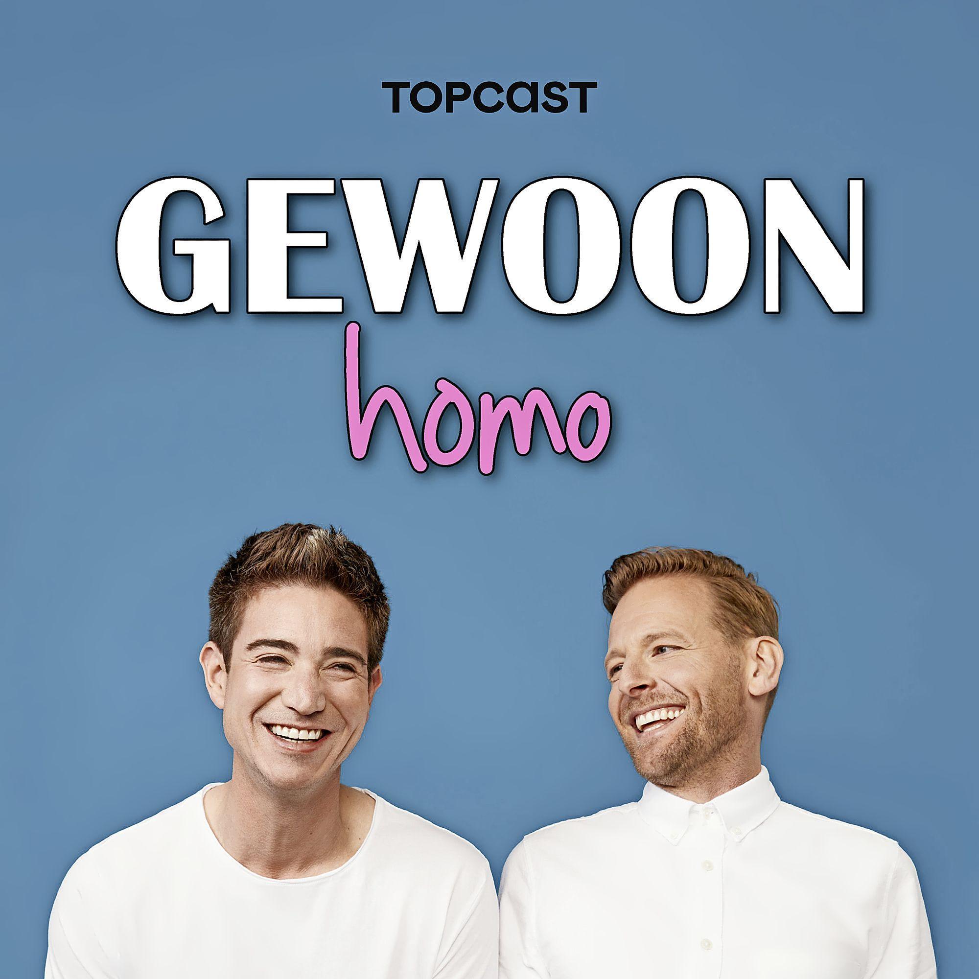 Podcast: In 'Gewoon homo' komt het hele regenboogalfabet voorbij