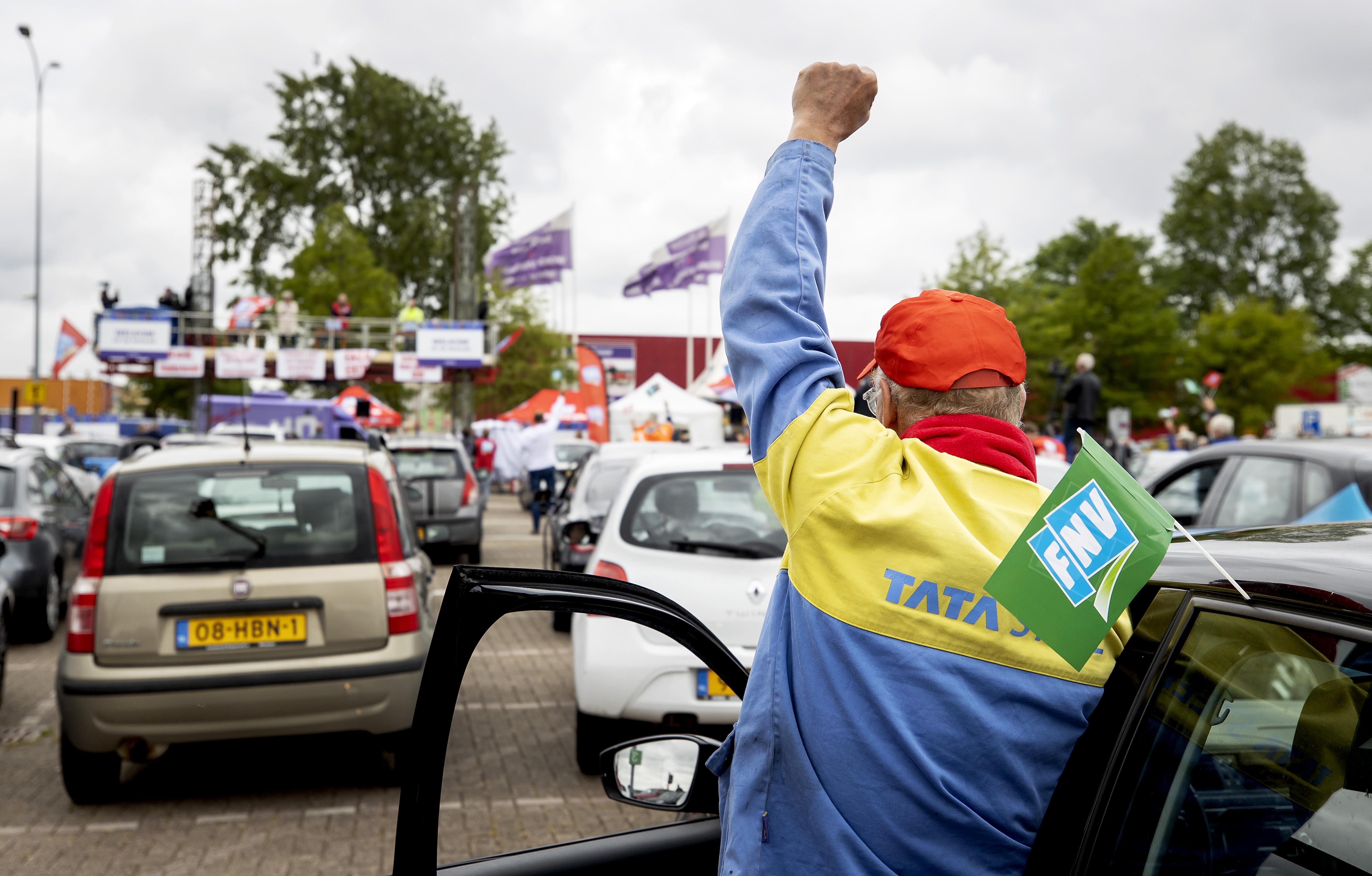 IJmond is bereid tot actie in stakingsconflict Tata Steel: 'Wij, de inwoners van de IJmond, moeten nu laten zien wat Tata Steel ons waard is'
