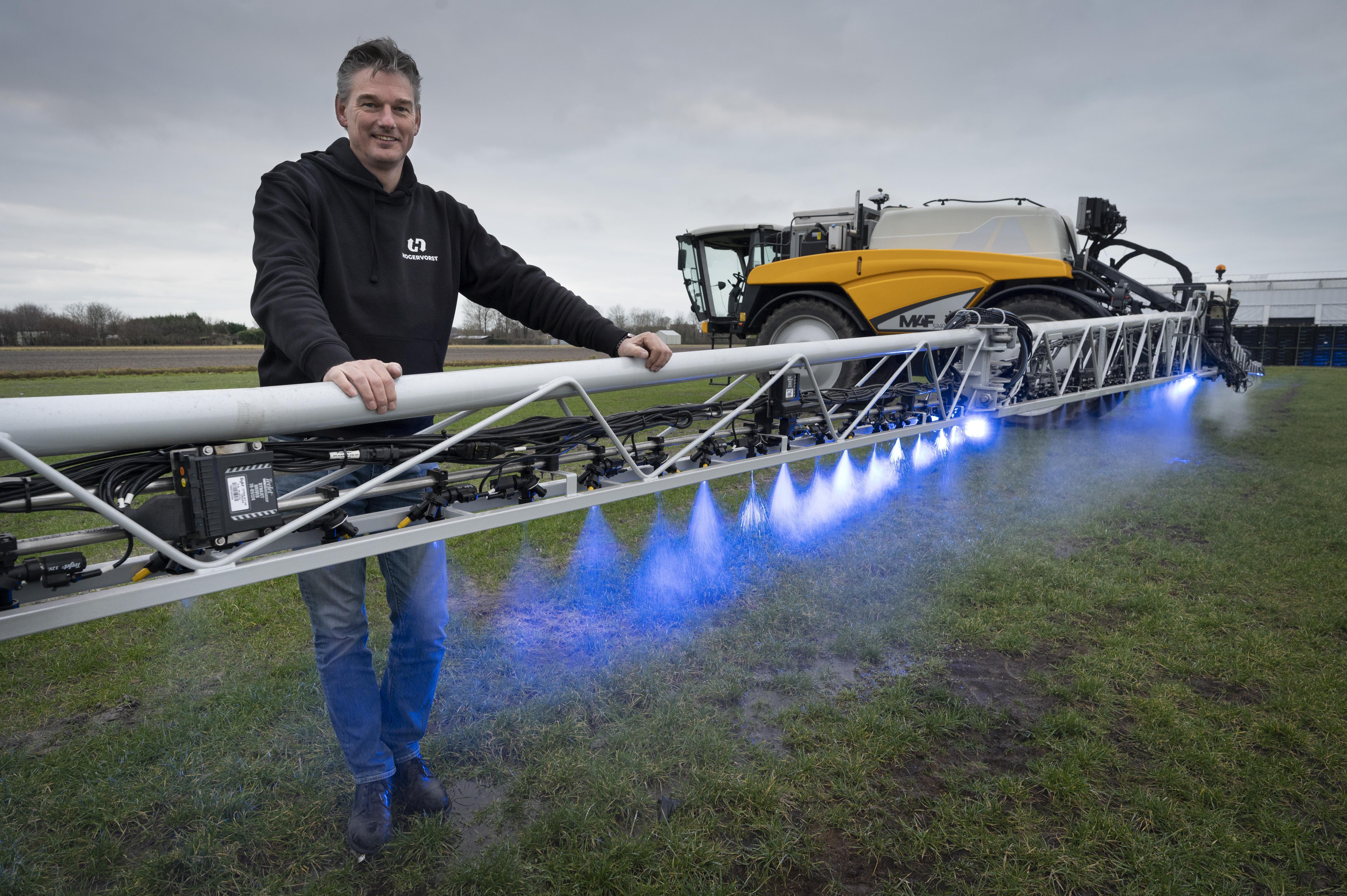 Noordwijkerhouts bedrijf wint innovatieprijs voor nieuwe spuittechniek bij gebruik bestrijdingsmiddelen