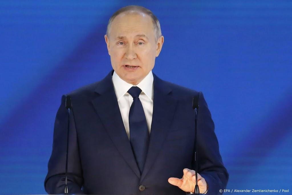 Poetin belooft extra geld voor kinderen in vergrijzend Rusland
